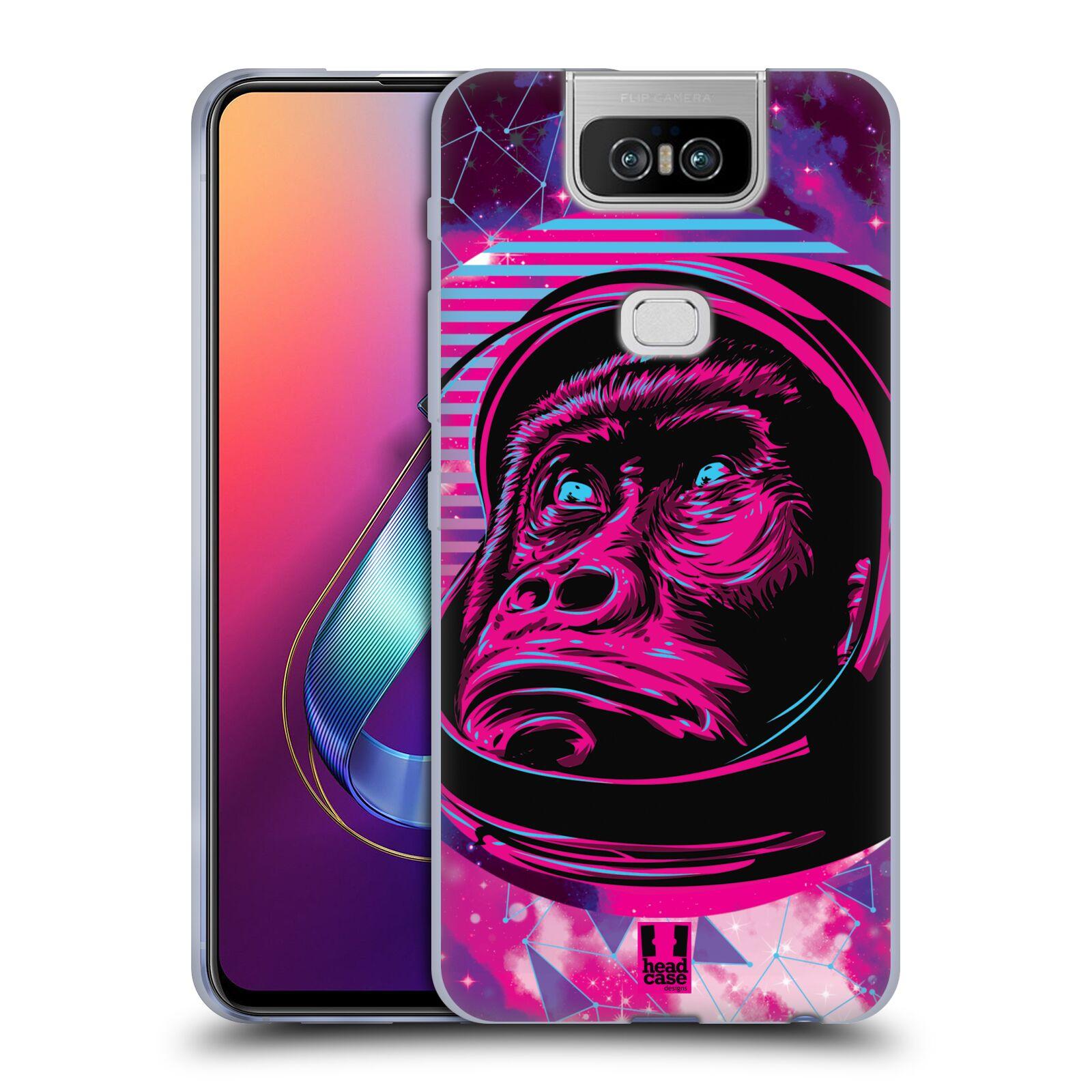 Silikonové pouzdro na mobil Asus Zenfone 6 ZS630KL - Head Case - Gorila ve skafandru