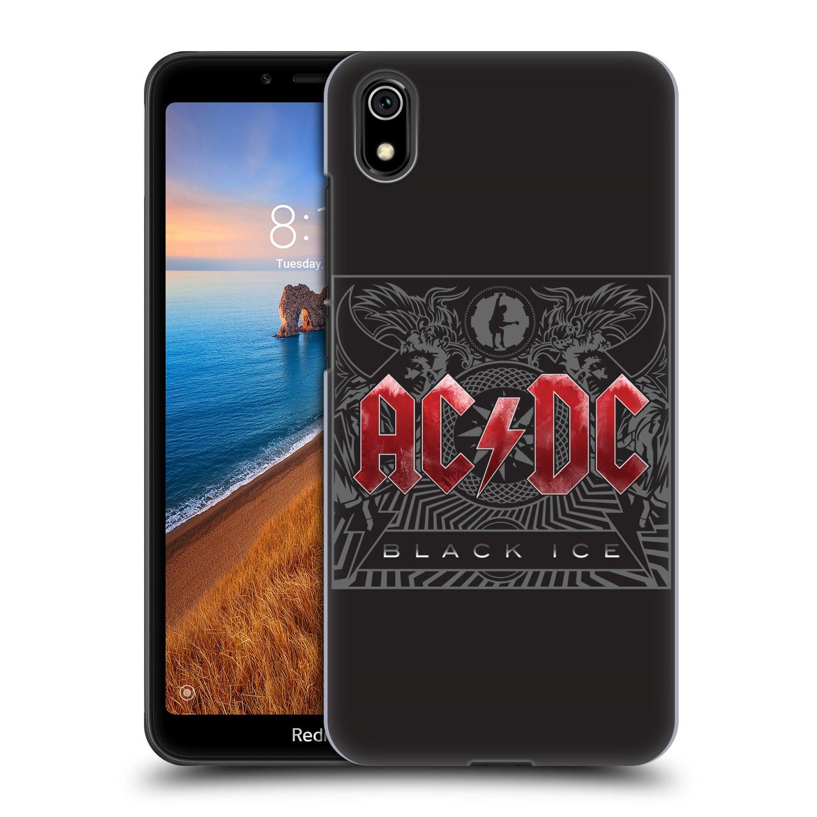 Plastové pouzdro na mobil Xiaomi Redmi 7A - Head Case - AC/DC Black Ice