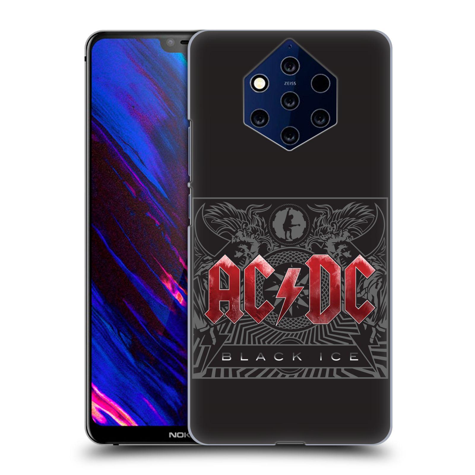 Plastové pouzdro na mobil Nokia 9 PureView - Head Case - AC/DC Black Ice