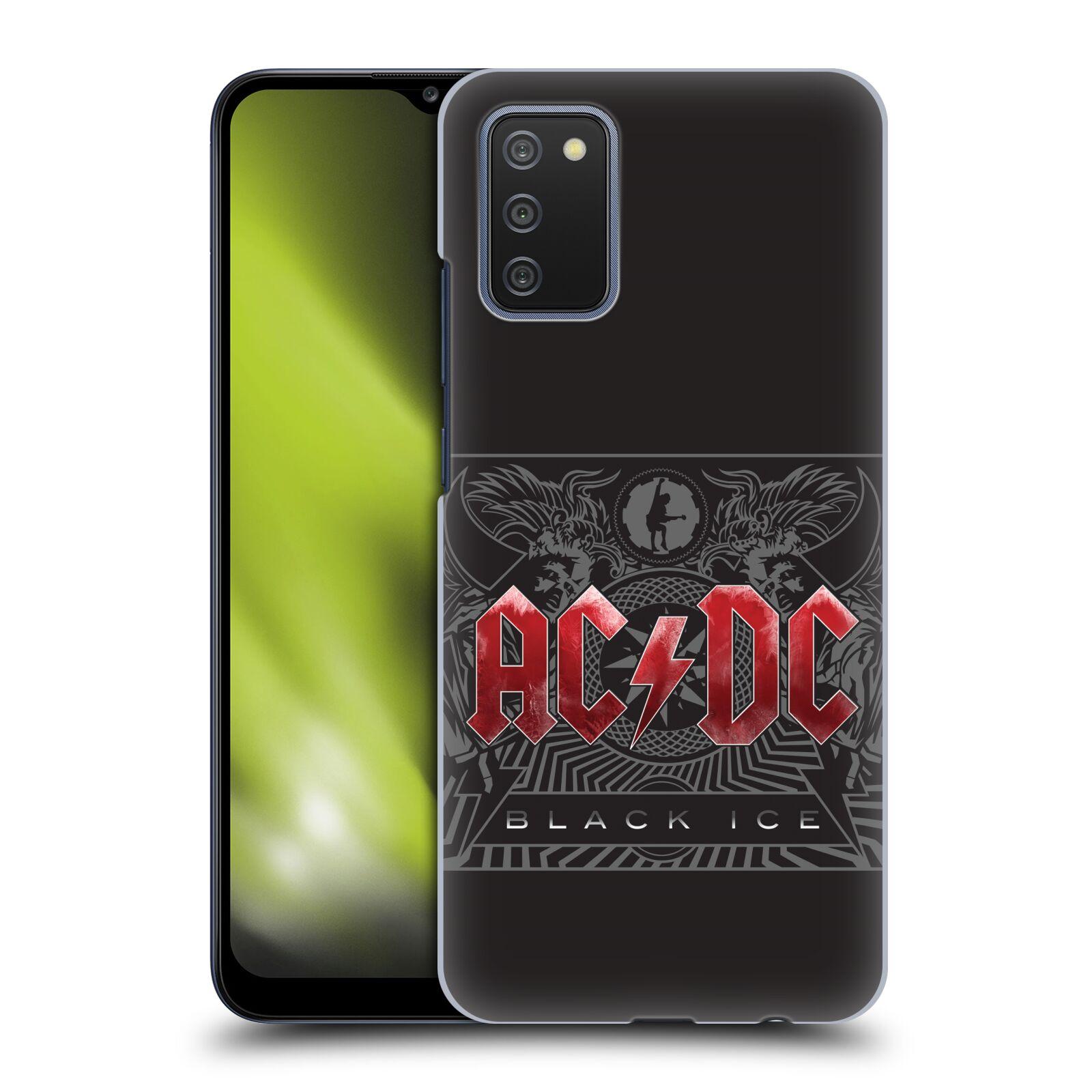 Plastové pouzdro na mobil Samsung Galaxy A02s - Head Case - AC/DC Black Ice