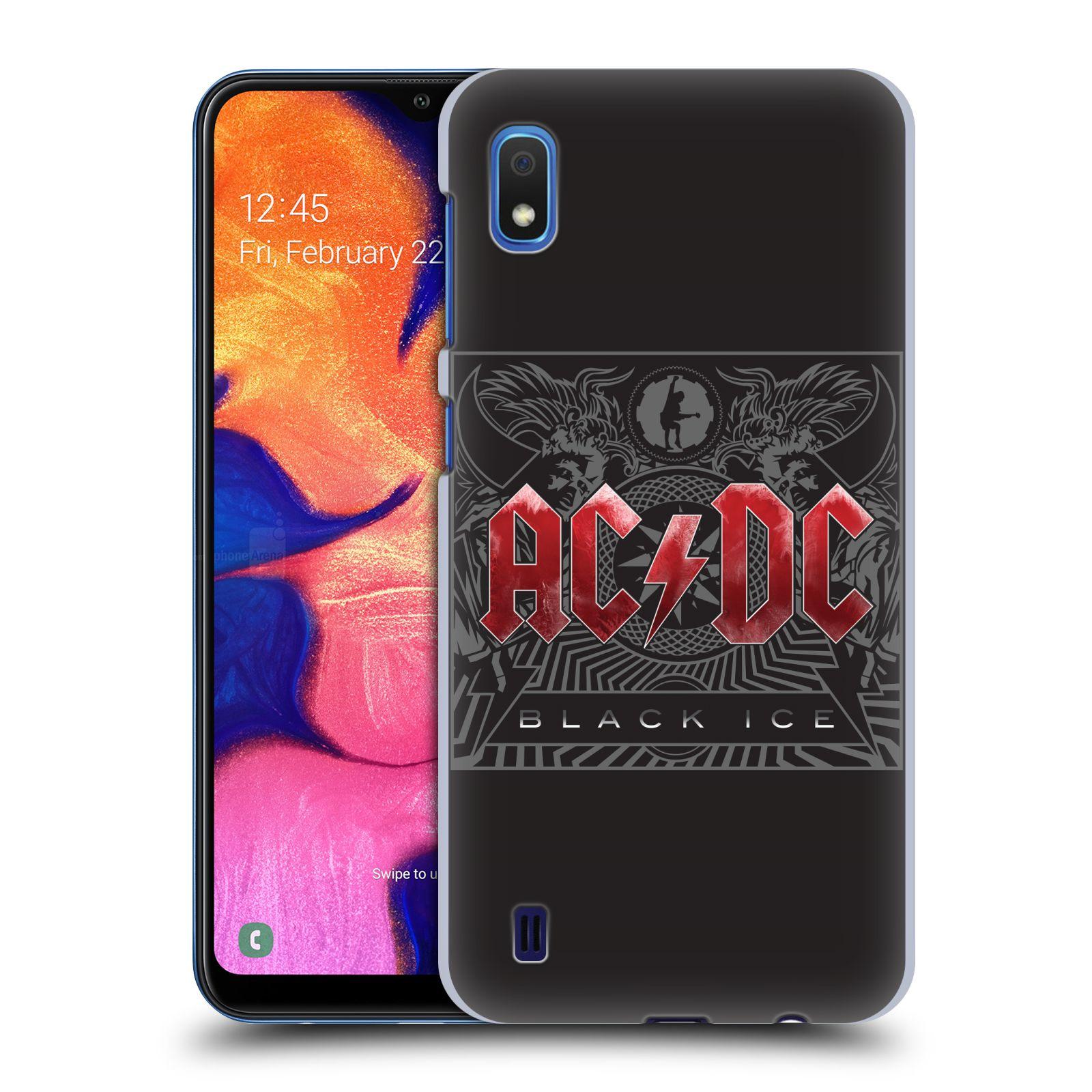 Plastové pouzdro na mobil Samsung Galaxy A10 - Head Case - AC/DC Black Ice