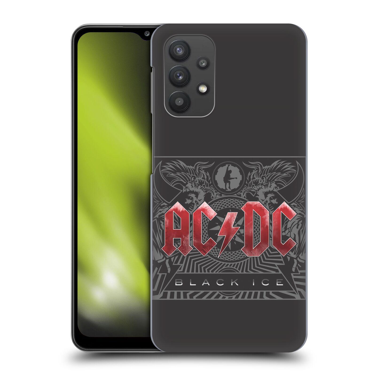 Plastové pouzdro na mobil Samsung Galaxy A32 5G - Head Case - AC/DC Black Ice