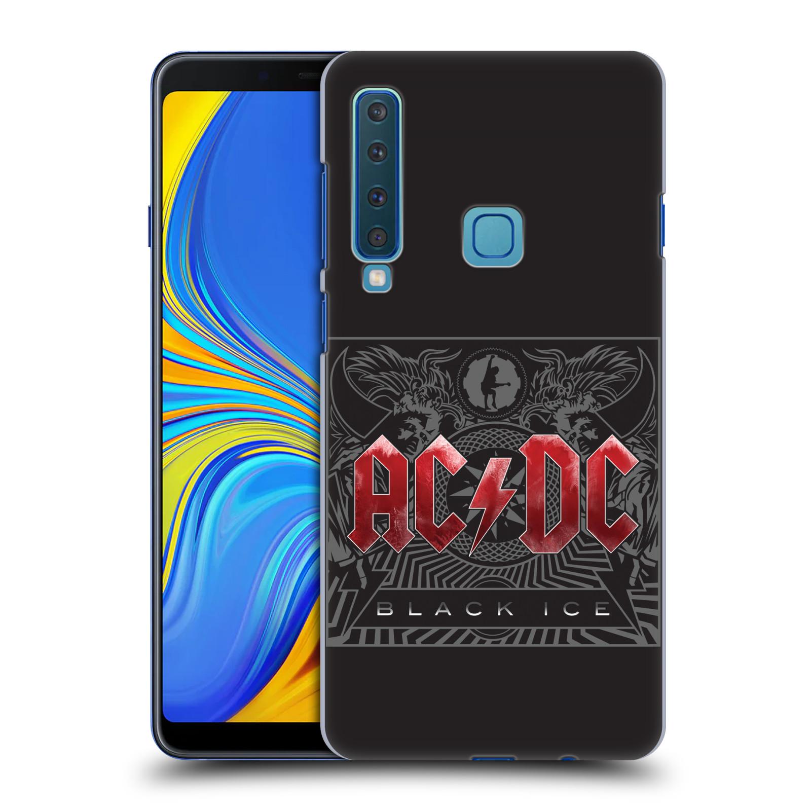 Plastové pouzdro na mobil Samsung Galaxy A9 (2018) - Head Case - AC/DC Black Ice