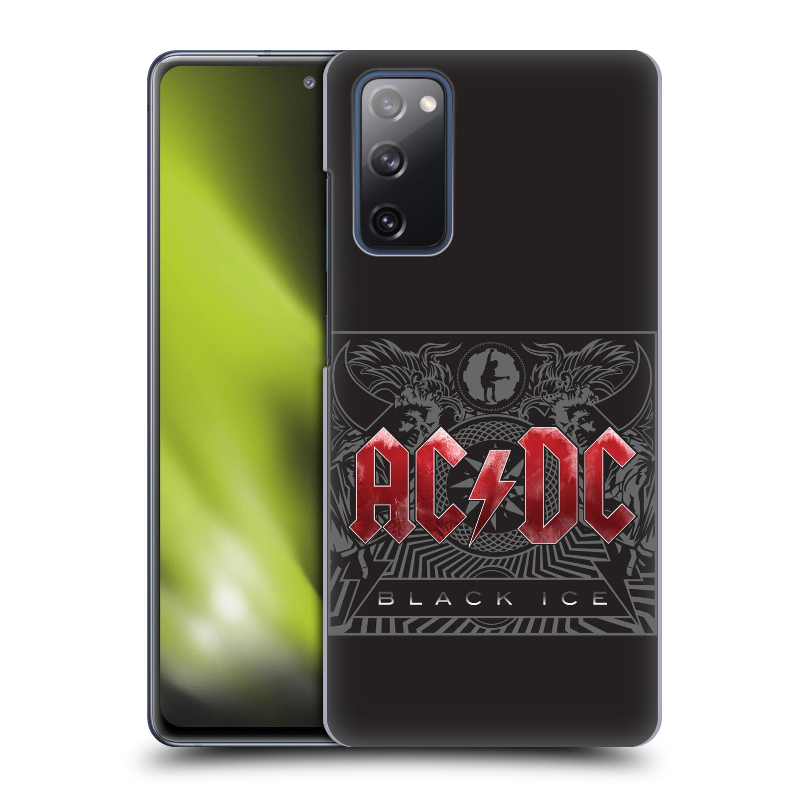 Plastové pouzdro na mobil Samsung Galaxy S20 FE - Head Case - AC/DC Black Ice