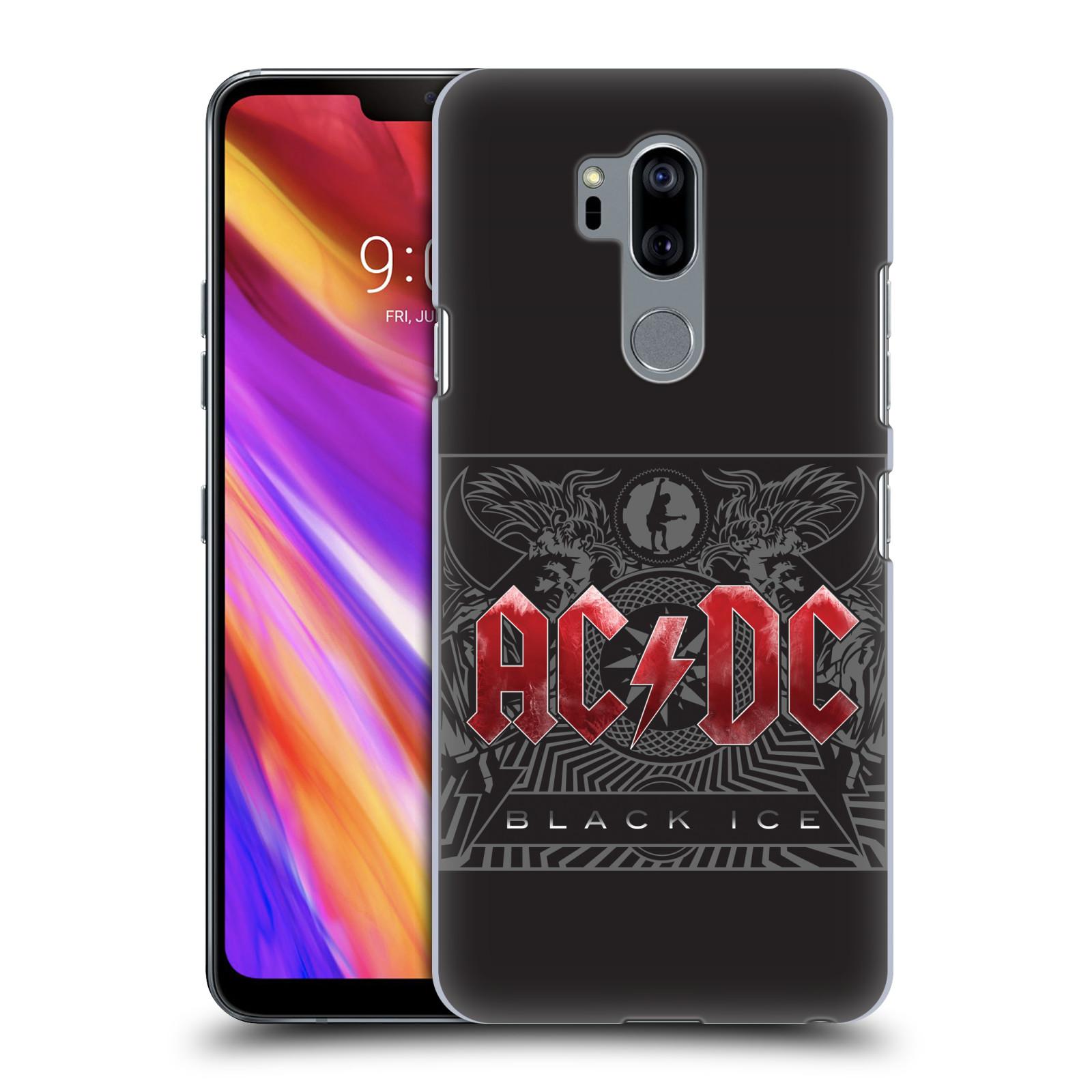Plastové pouzdro na mobil LG G7 ThinQ - Head Case - AC/DC Black Ice