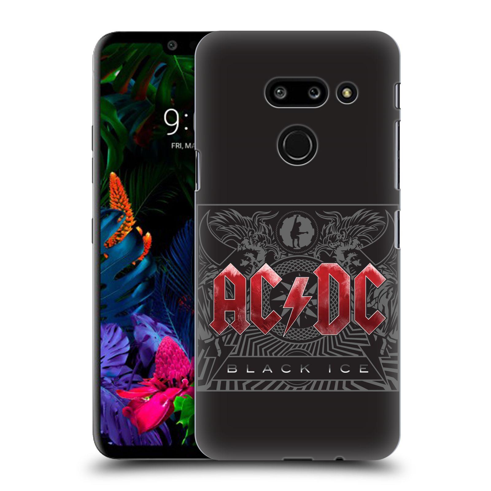 Plastové pouzdro na mobil LG G8 ThinQ - Head Case - AC/DC Black Ice