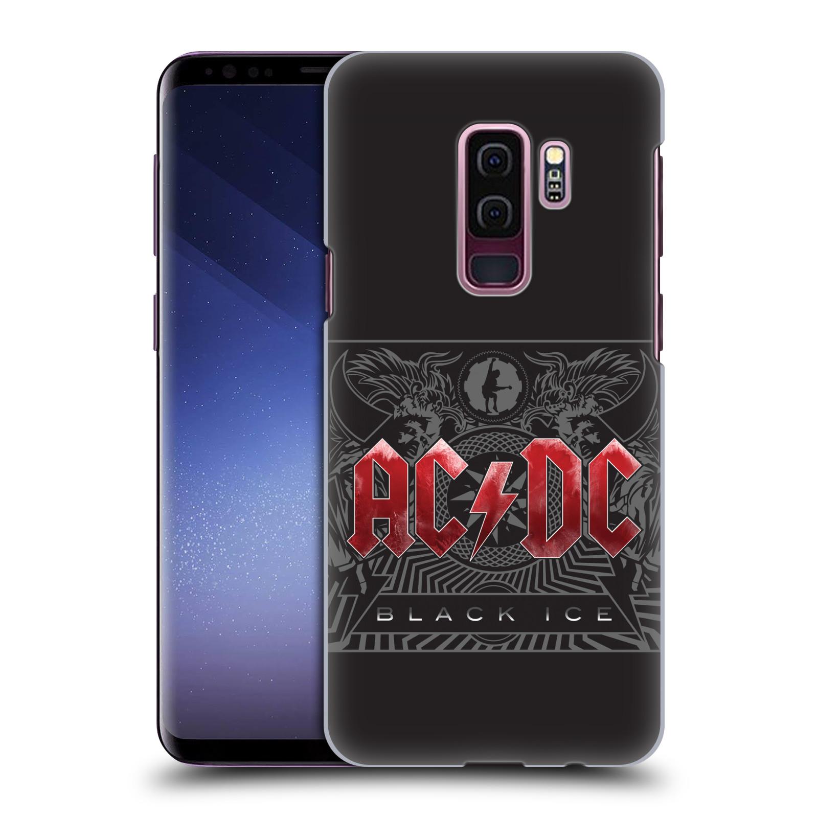 Plastové pouzdro na mobil Samsung Galaxy S9 Plus - Head Case - AC/DC Black Ice