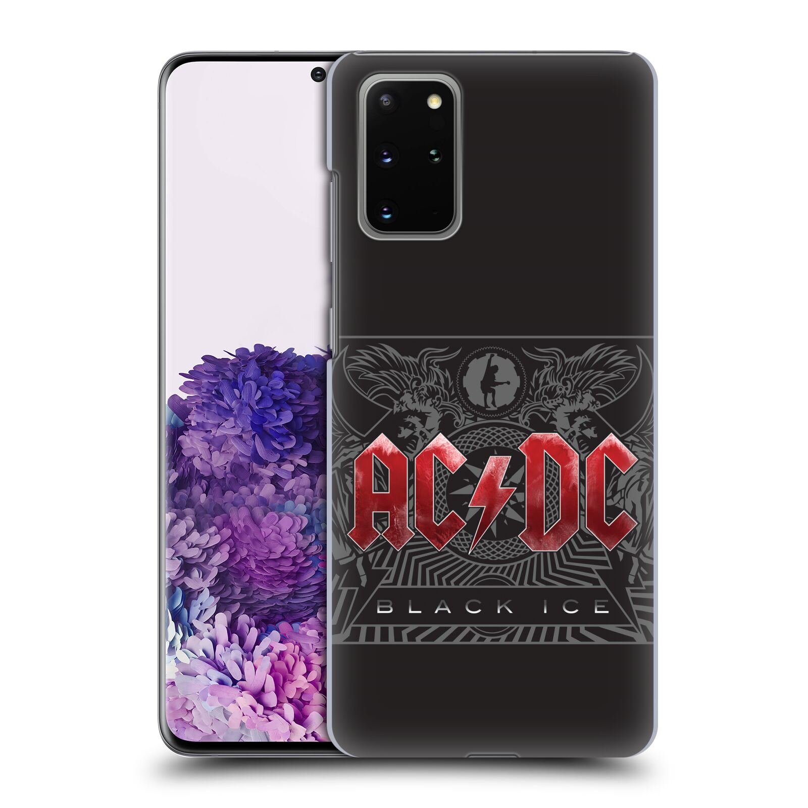 Plastové pouzdro na mobil Samsung Galaxy S20 Plus - Head Case - AC/DC Black Ice
