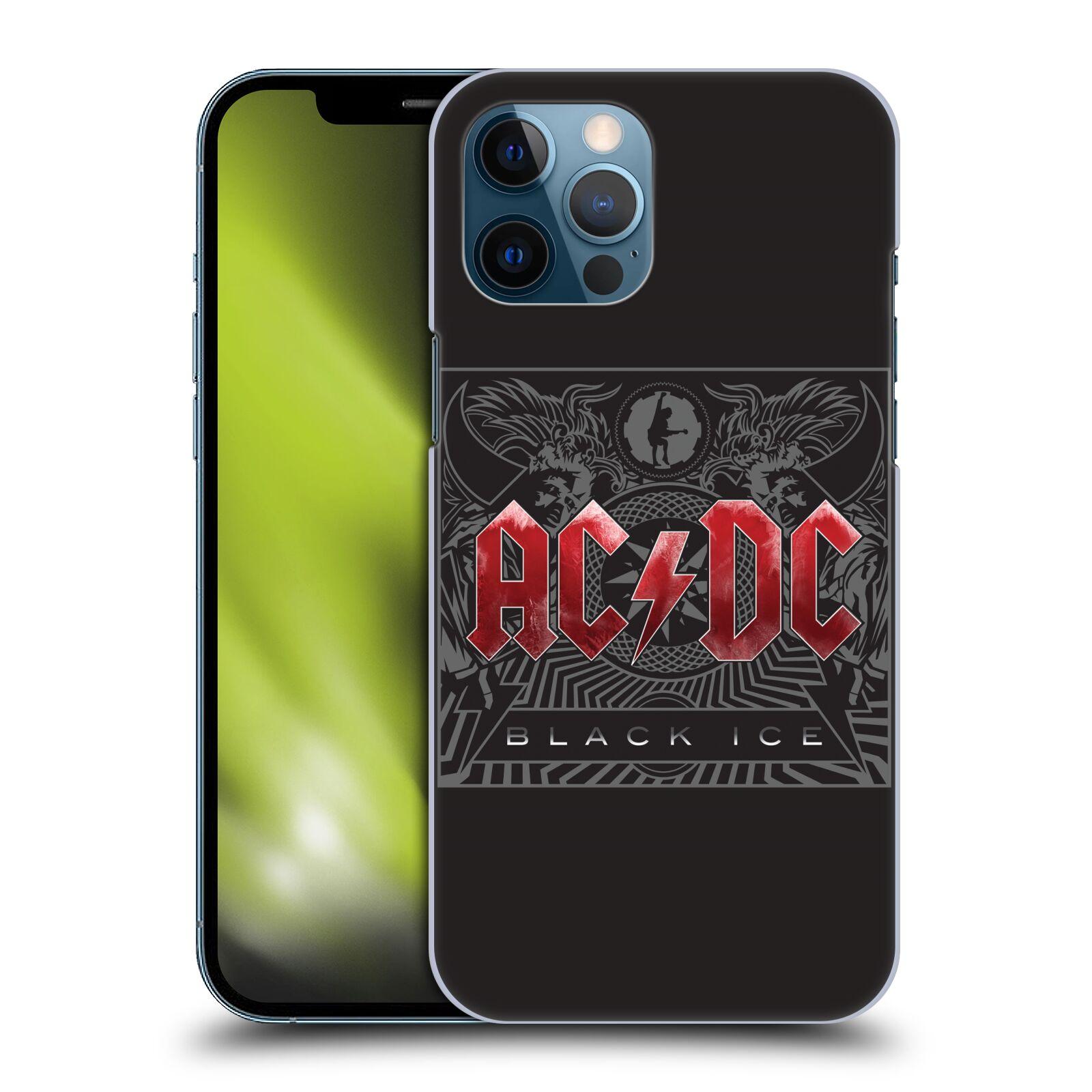Plastové pouzdro na mobil Apple iPhone 12 Pro Max - Head Case - AC/DC Black Ice