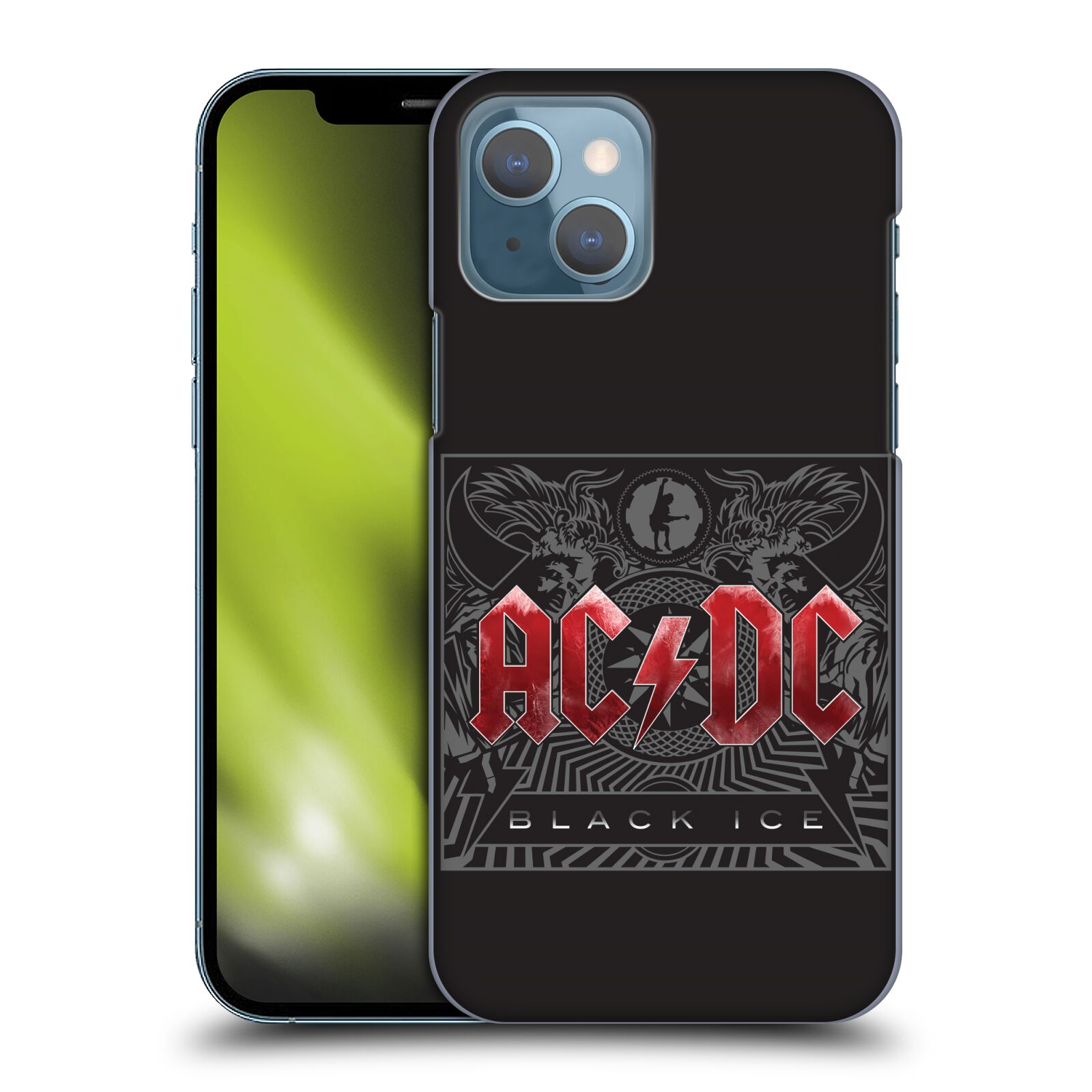 Plastové pouzdro na mobil Apple iPhone 13 - Head Case - AC/DC Black Ice