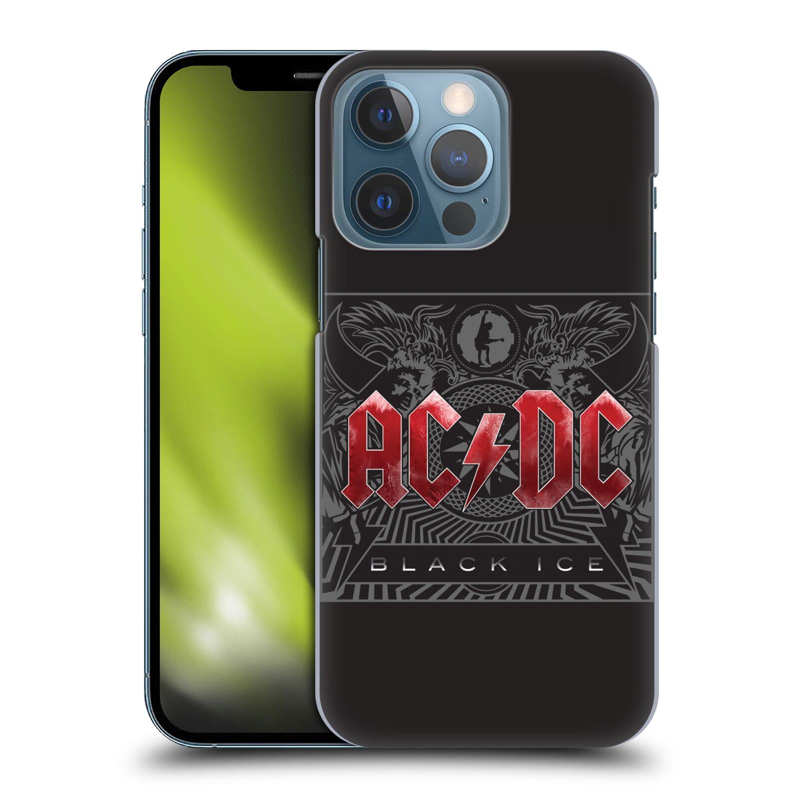 Plastové pouzdro na mobil Apple iPhone 13 Pro - Head Case - AC/DC Black Ice