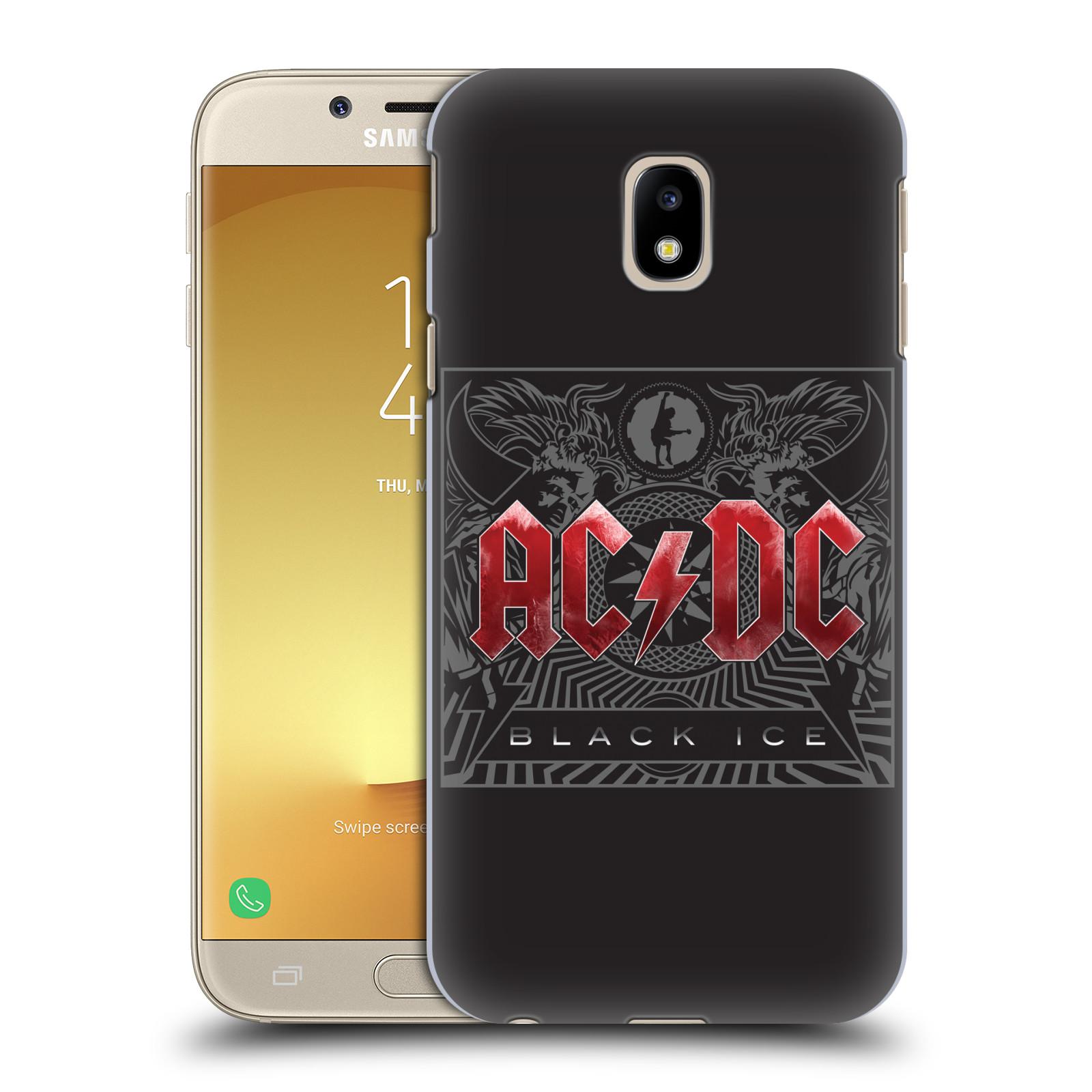 Plastové pouzdro na mobil Samsung Galaxy J3 (2017) - Head Case - AC/DC Black Ice