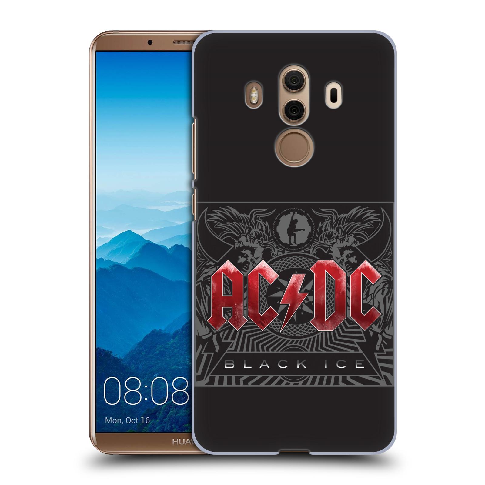 Plastové pouzdro na mobil Huawei Mate 10 Pro - Head Case - AC/DC Black Ice