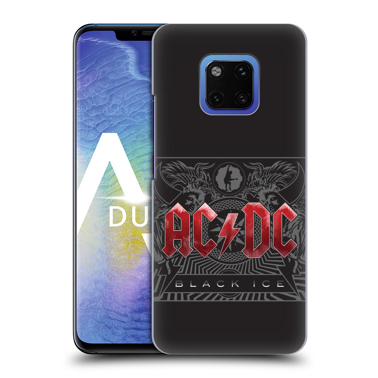 Plastové pouzdro na mobil Huawei Mate 20 Pro - Head Case - AC/DC Black Ice