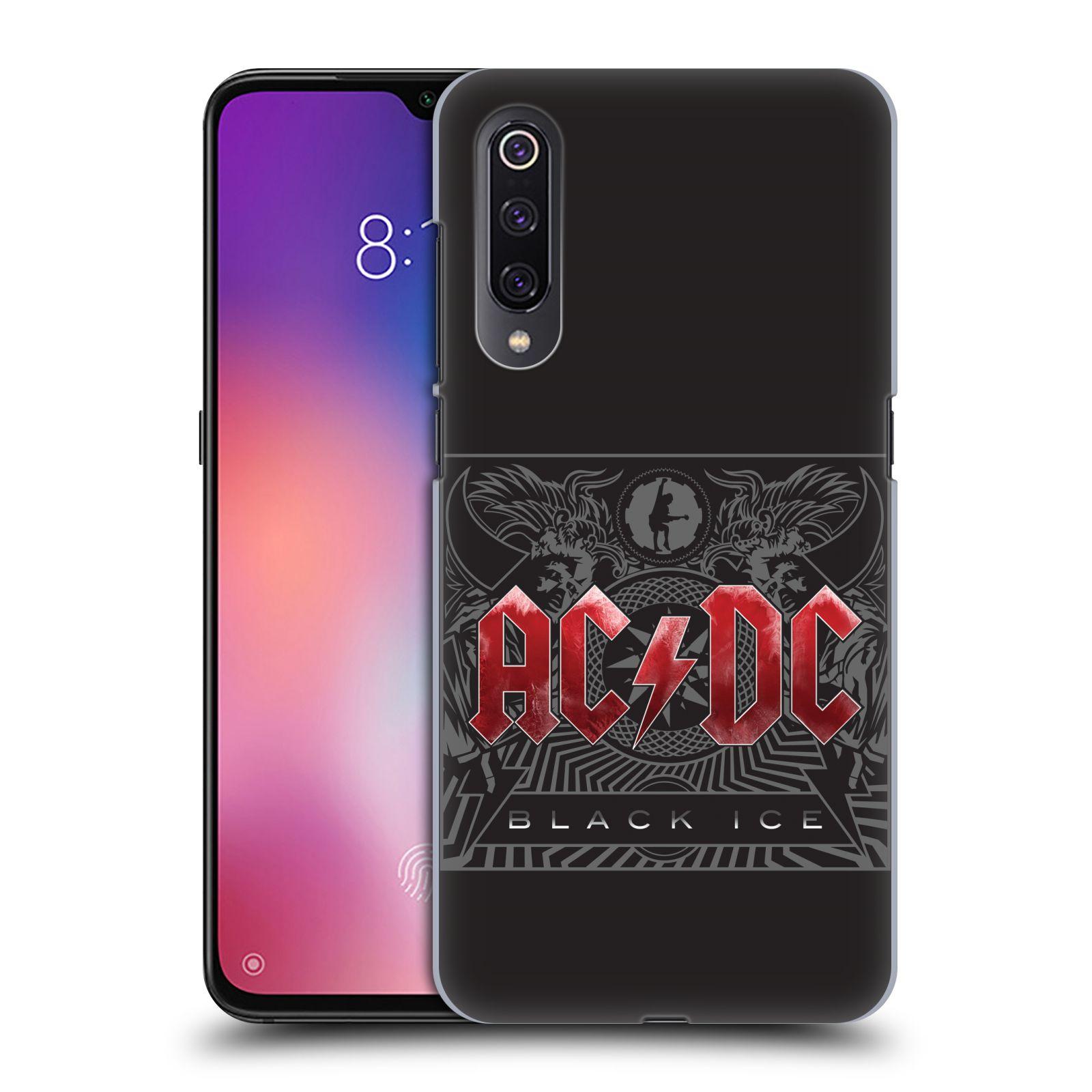 Plastové pouzdro na mobil Xiaomi Mi 9 - Head Case - AC/DC Black Ice