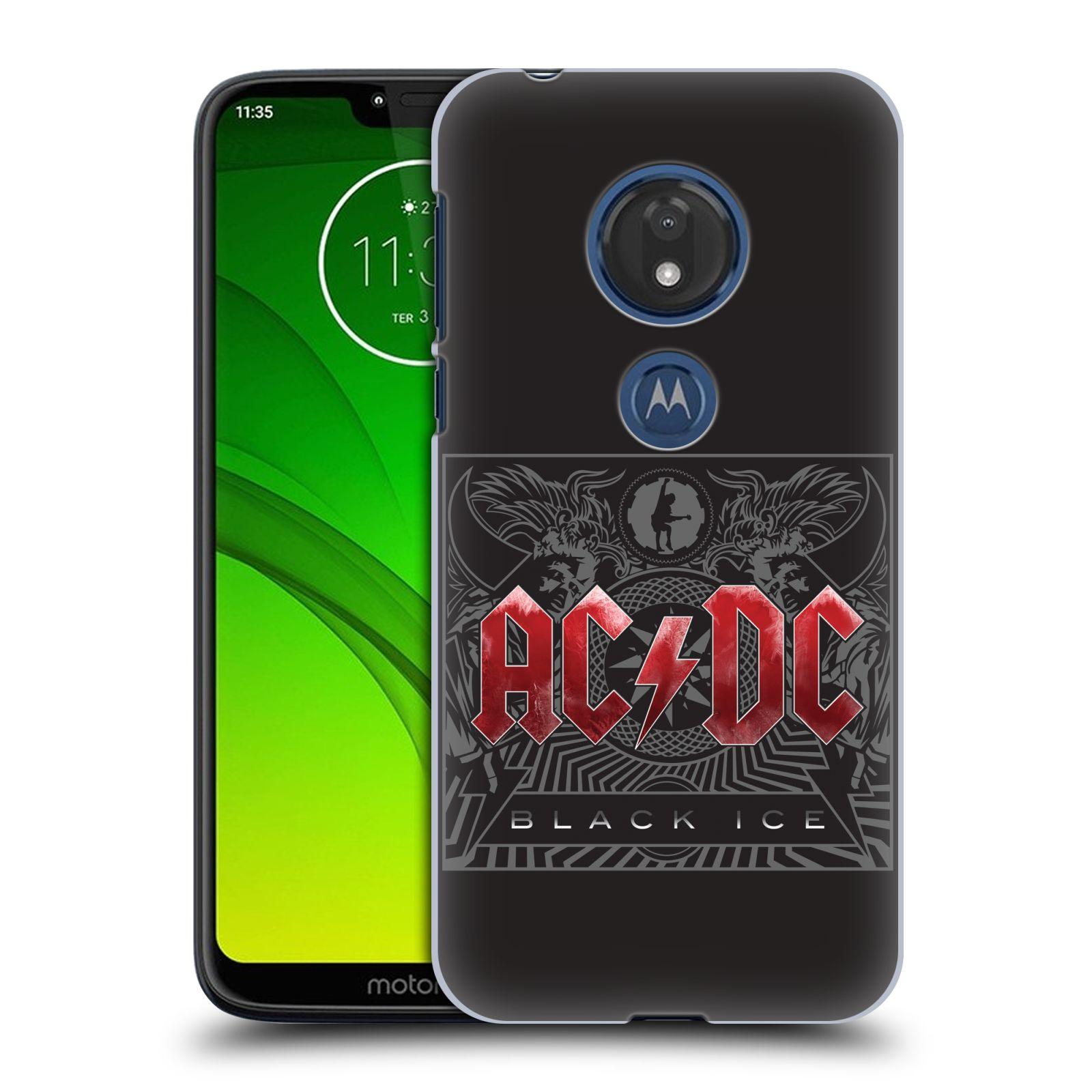 Plastové pouzdro na mobil Motorola Moto G7 Play - Head Case - AC/DC Black Ice