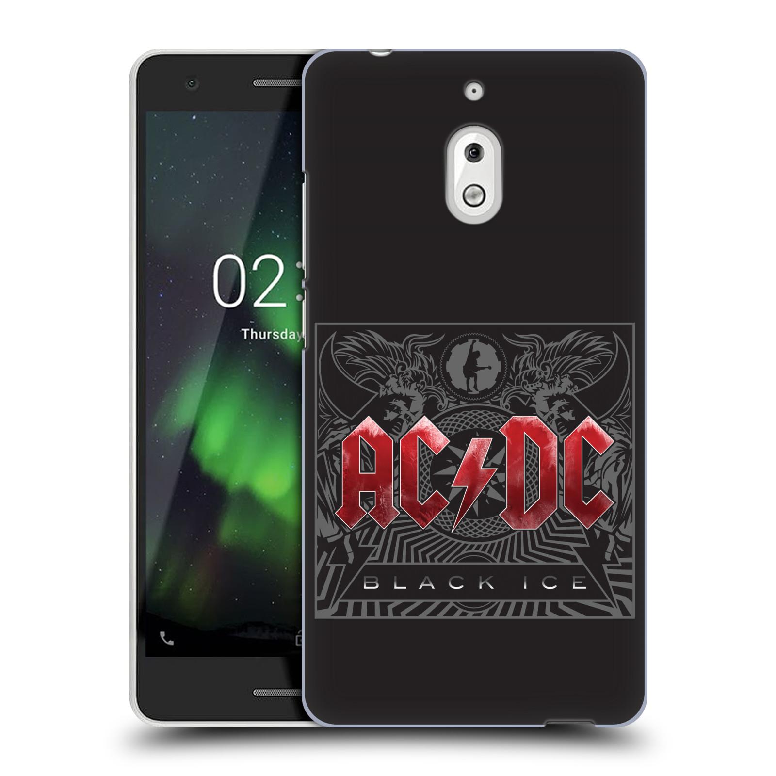 Plastové pouzdro na mobil Nokia 2.1 - Head Case - AC/DC Black Ice