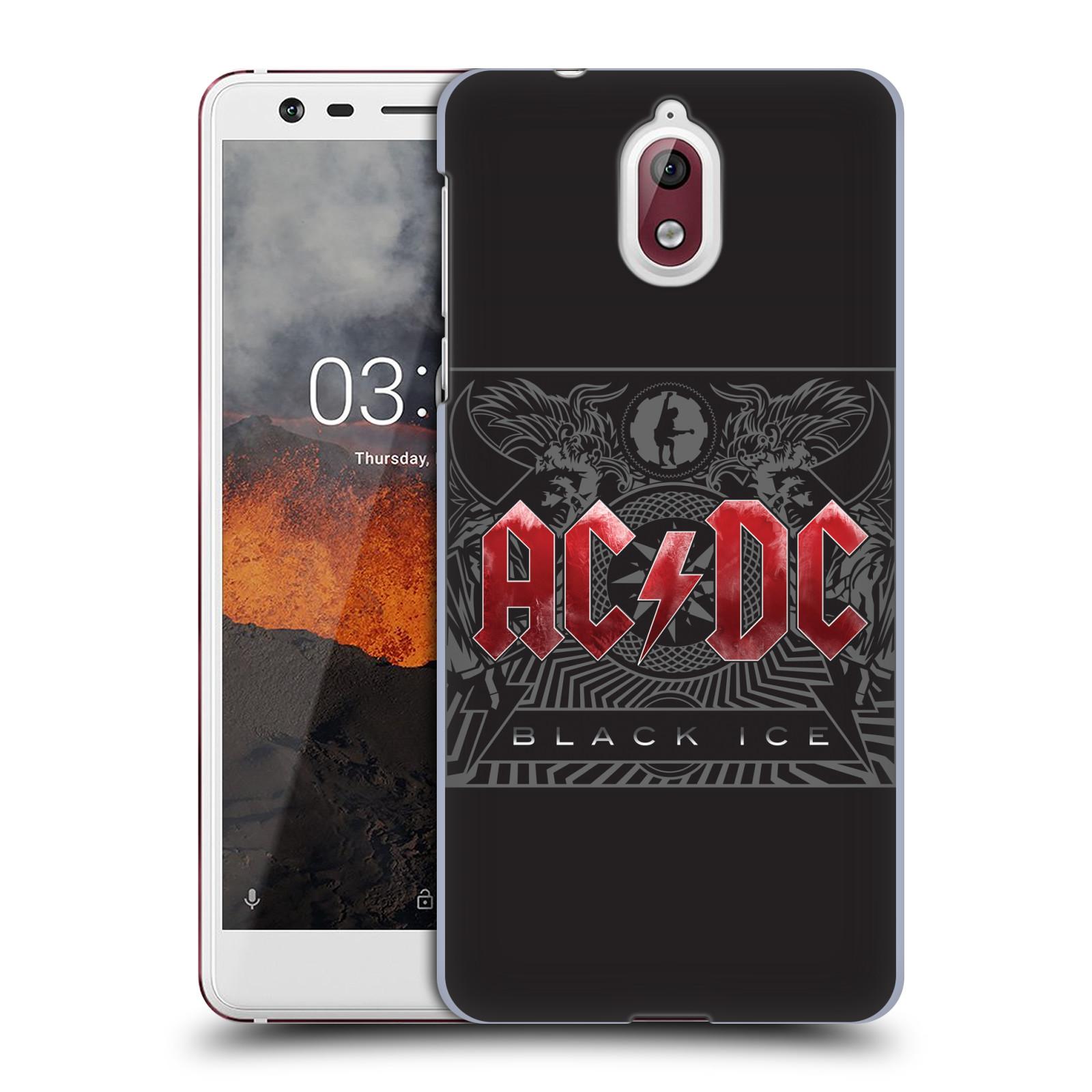 Plastové pouzdro na mobil Nokia 3.1 - Head Case - AC/DC Black Ice
