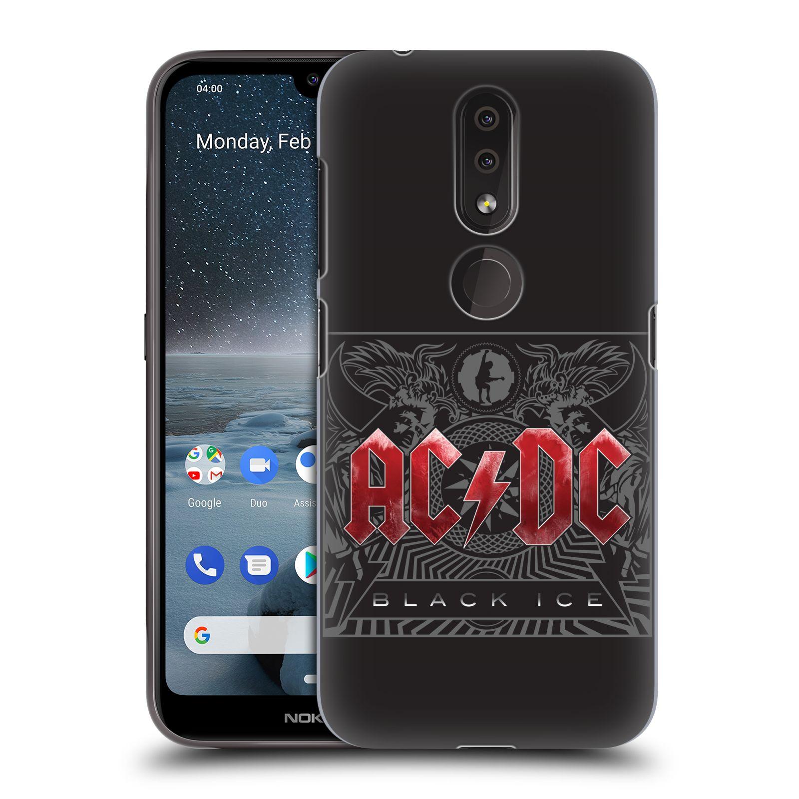 Plastové pouzdro na mobil Nokia 4.2 - Head Case - AC/DC Black Ice