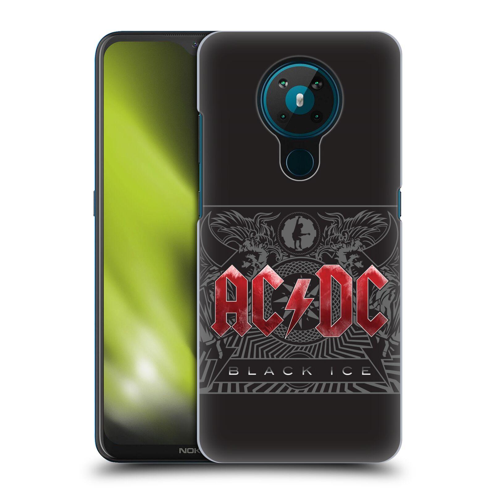 Plastové pouzdro na mobil Nokia 5.3 - Head Case - AC/DC Black Ice