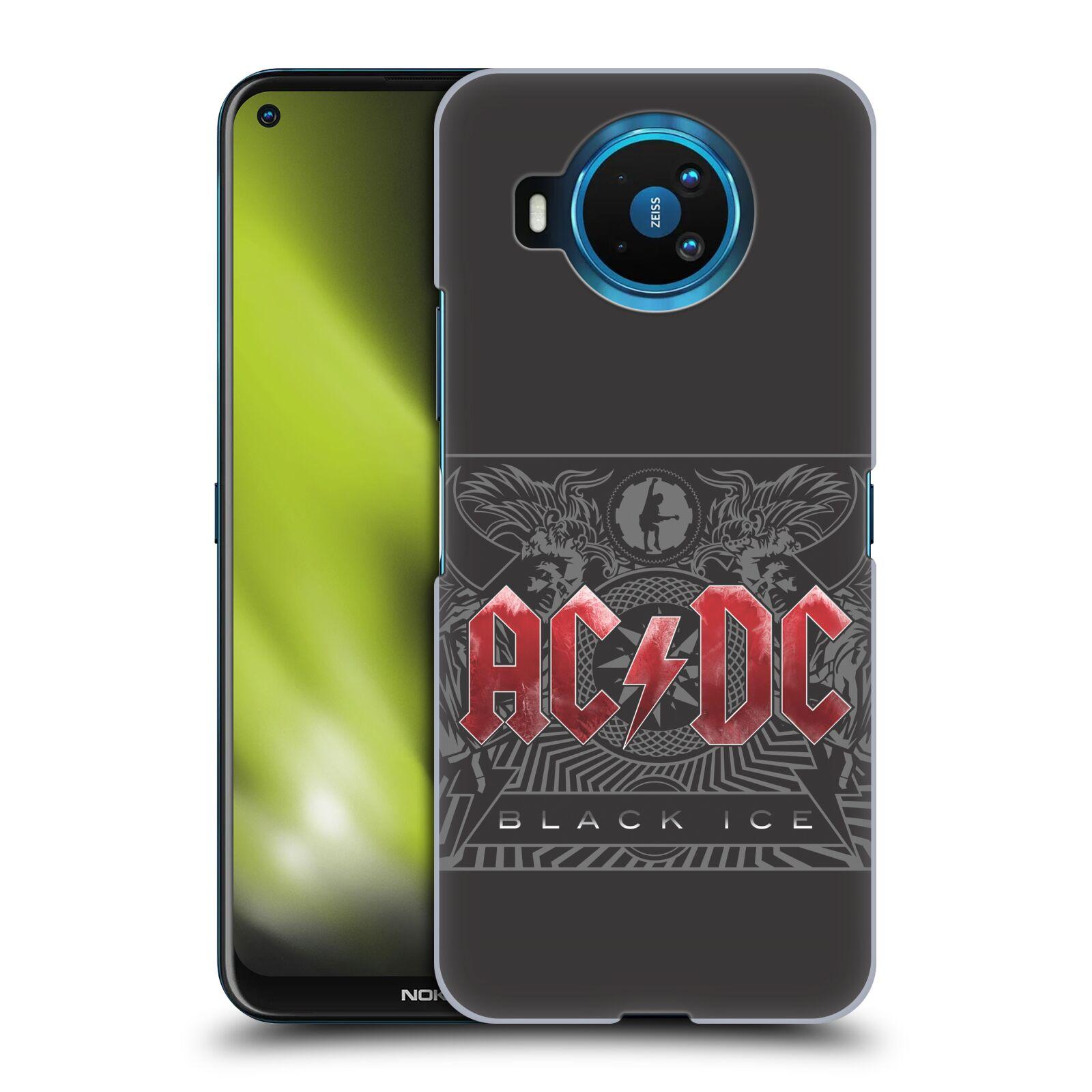 Plastové pouzdro na mobil Nokia 8.3 5G - Head Case - AC/DC Black Ice