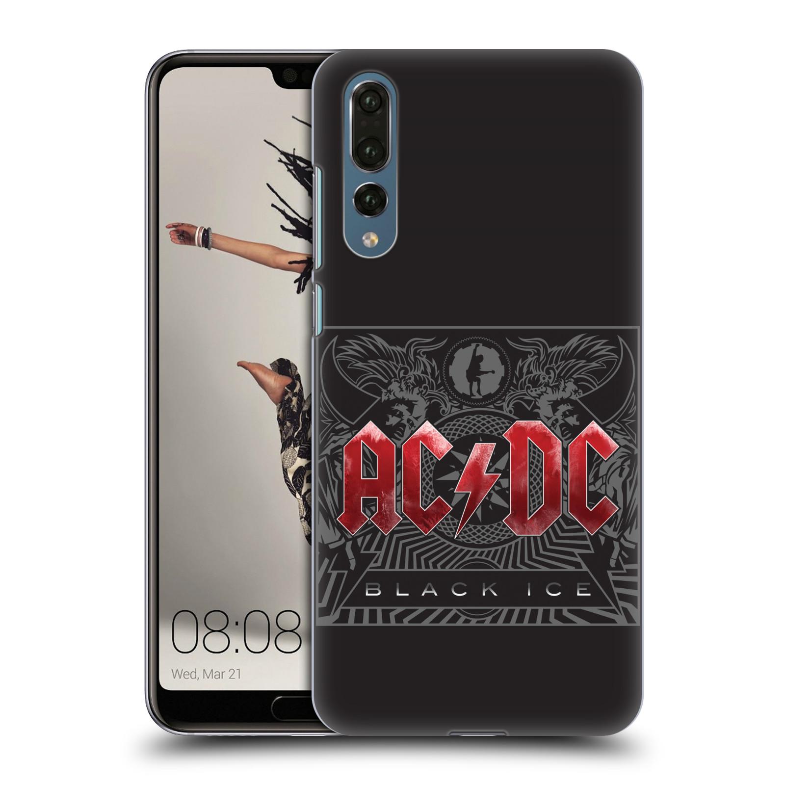 Plastové pouzdro na mobil Huawei P20 Pro - Head Case - AC/DC Black Ice