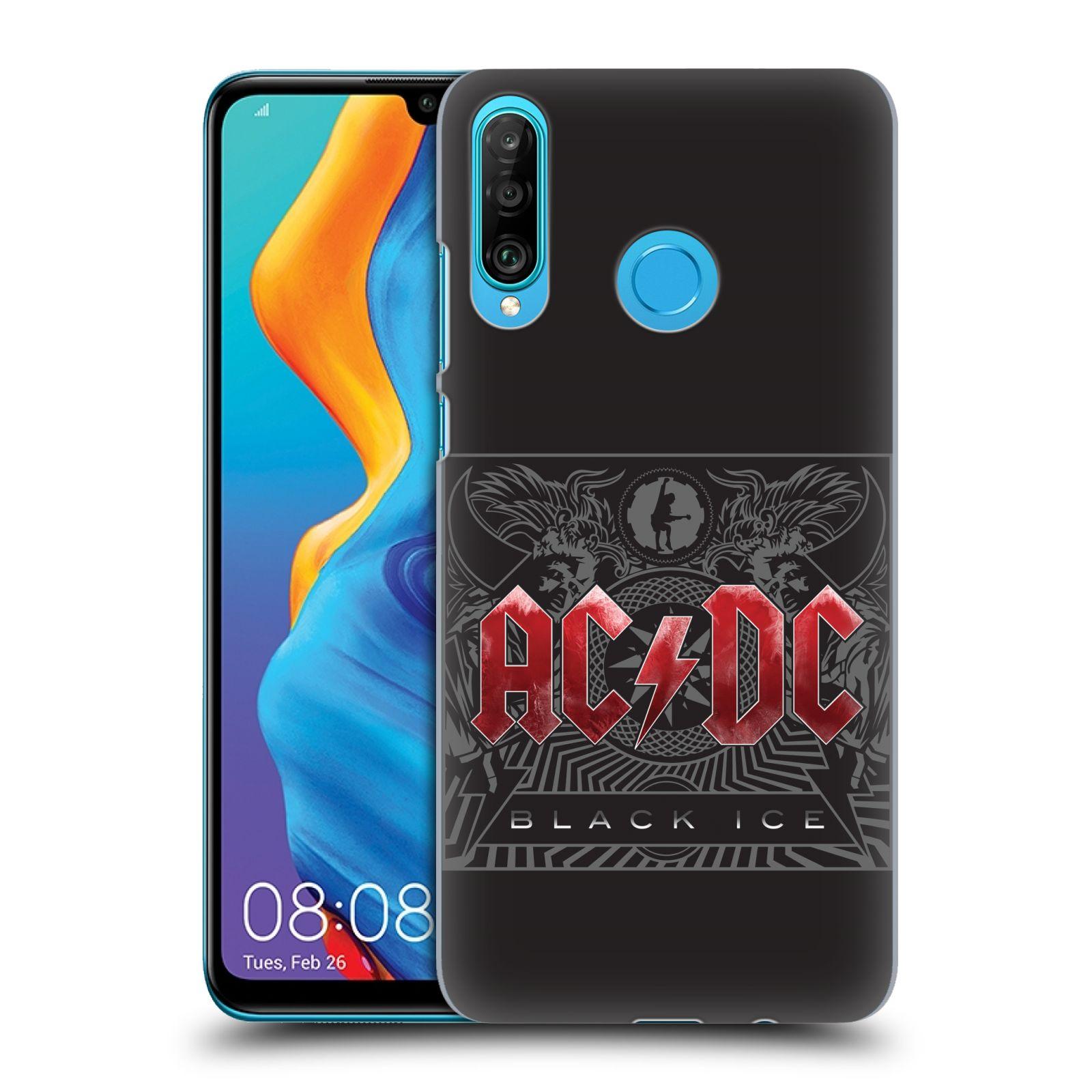 Plastové pouzdro na mobil Huawei P30 Lite - Head Case - AC/DC Black Ice