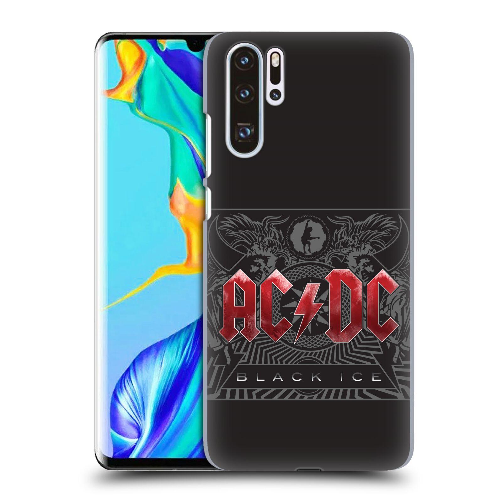 Plastové pouzdro na mobil Huawei P30 Pro - Head Case - AC/DC Black Ice