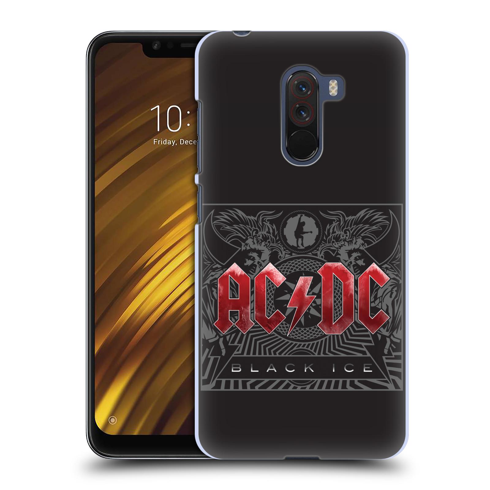 Plastové pouzdro na mobil Xiaomi Pocophone F1 - Head Case - AC/DC Black Ice