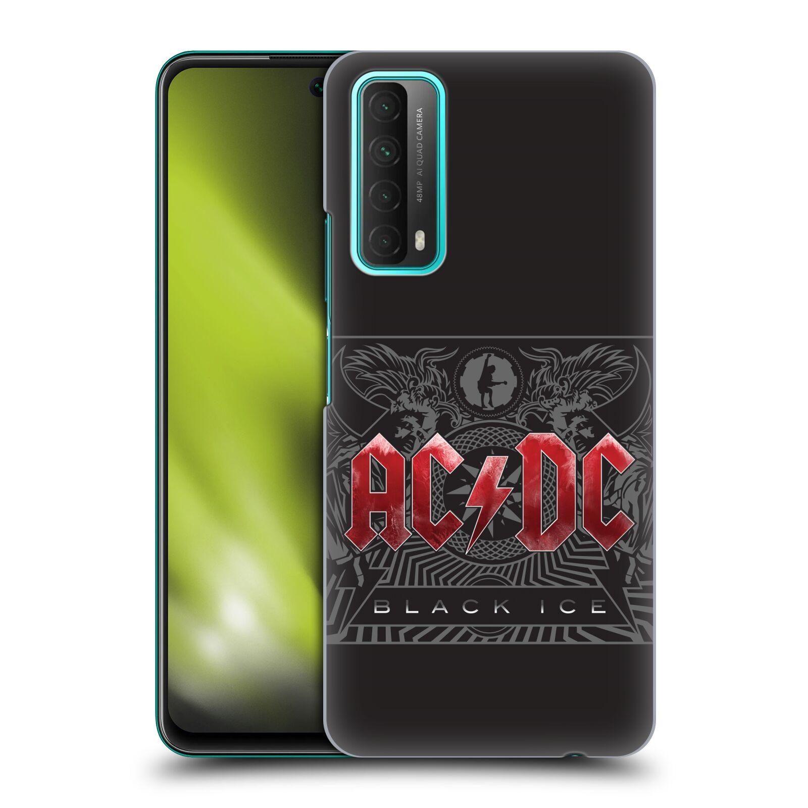 Plastové pouzdro na mobil Huawei P Smart (2021) - Head Case - AC/DC Black Ice