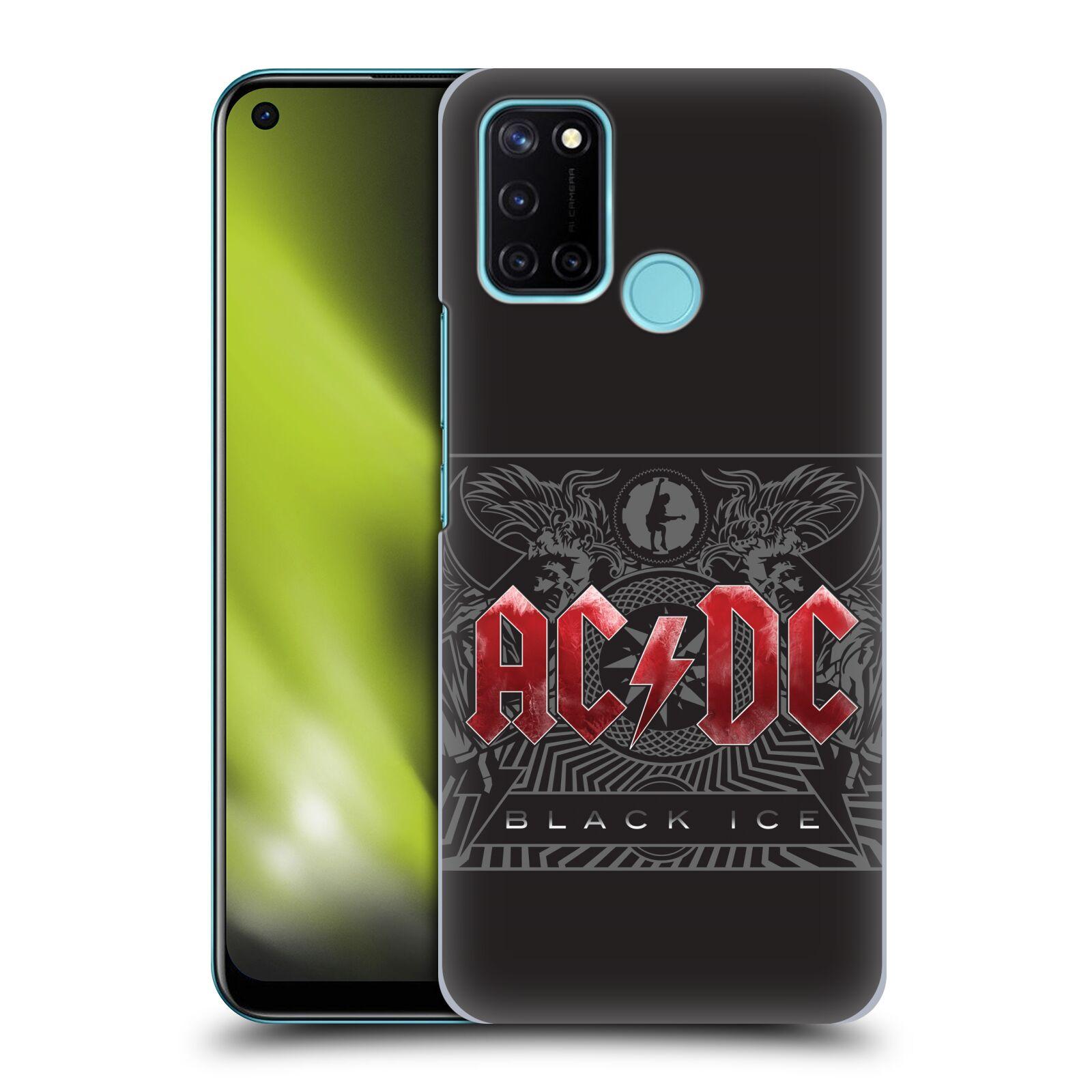 Plastové pouzdro na mobil Realme 7i - Head Case - AC/DC Black Ice