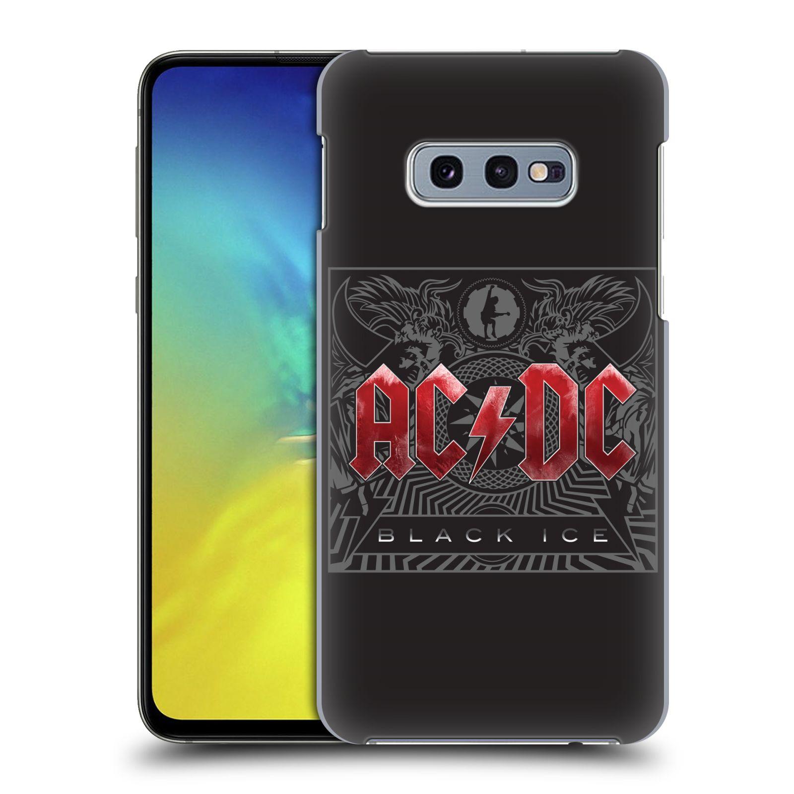 Plastové pouzdro na mobil Samsung Galaxy S10e - Head Case - AC/DC Black Ice