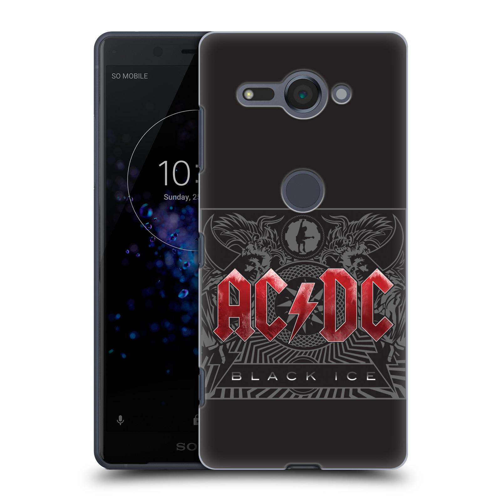 Plastové pouzdro na mobil Sony Xperia XZ2 Compact - Head Case - AC/DC Black Ice