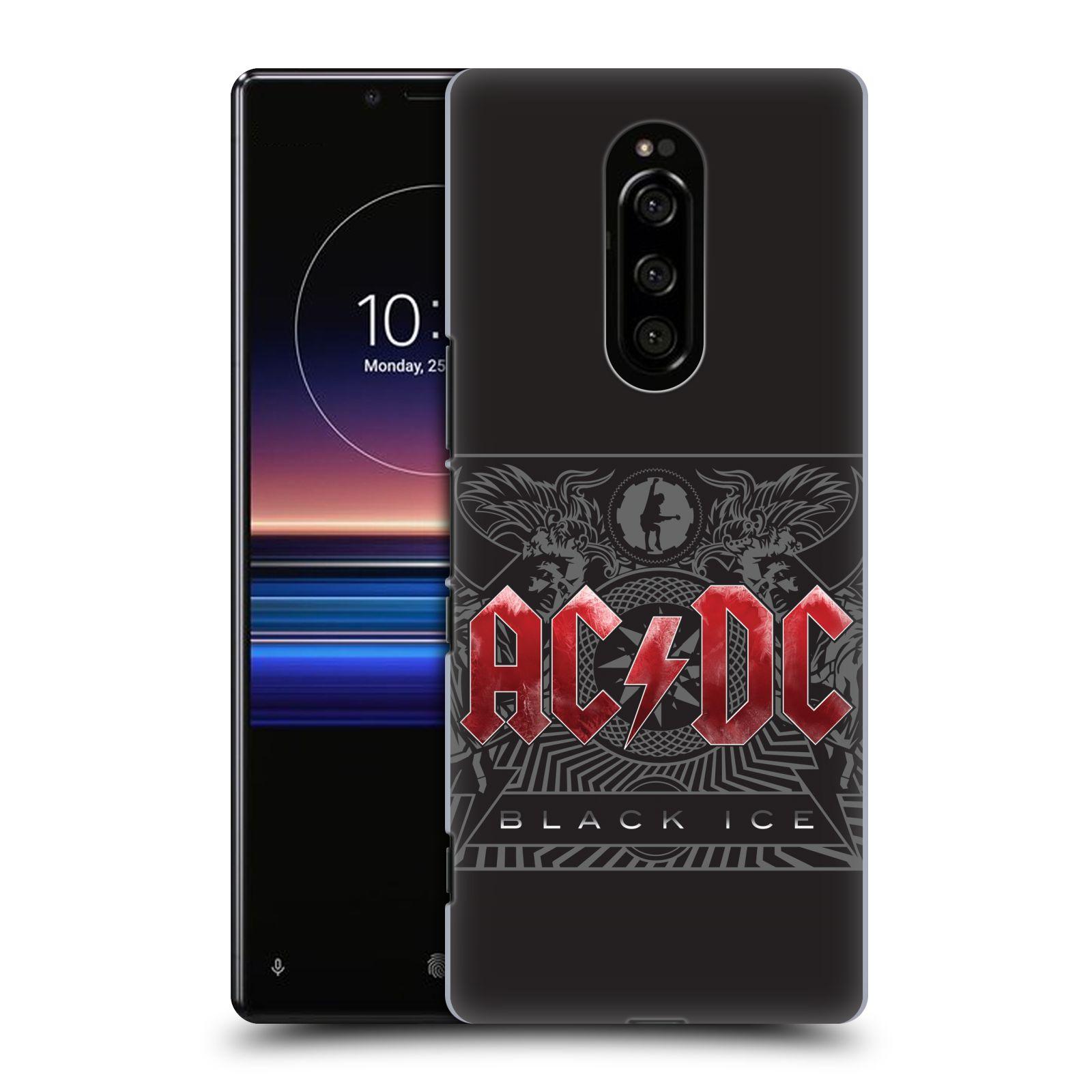 Plastové pouzdro na mobil Sony Xperia 1 - Head Case - AC/DC Black Ice