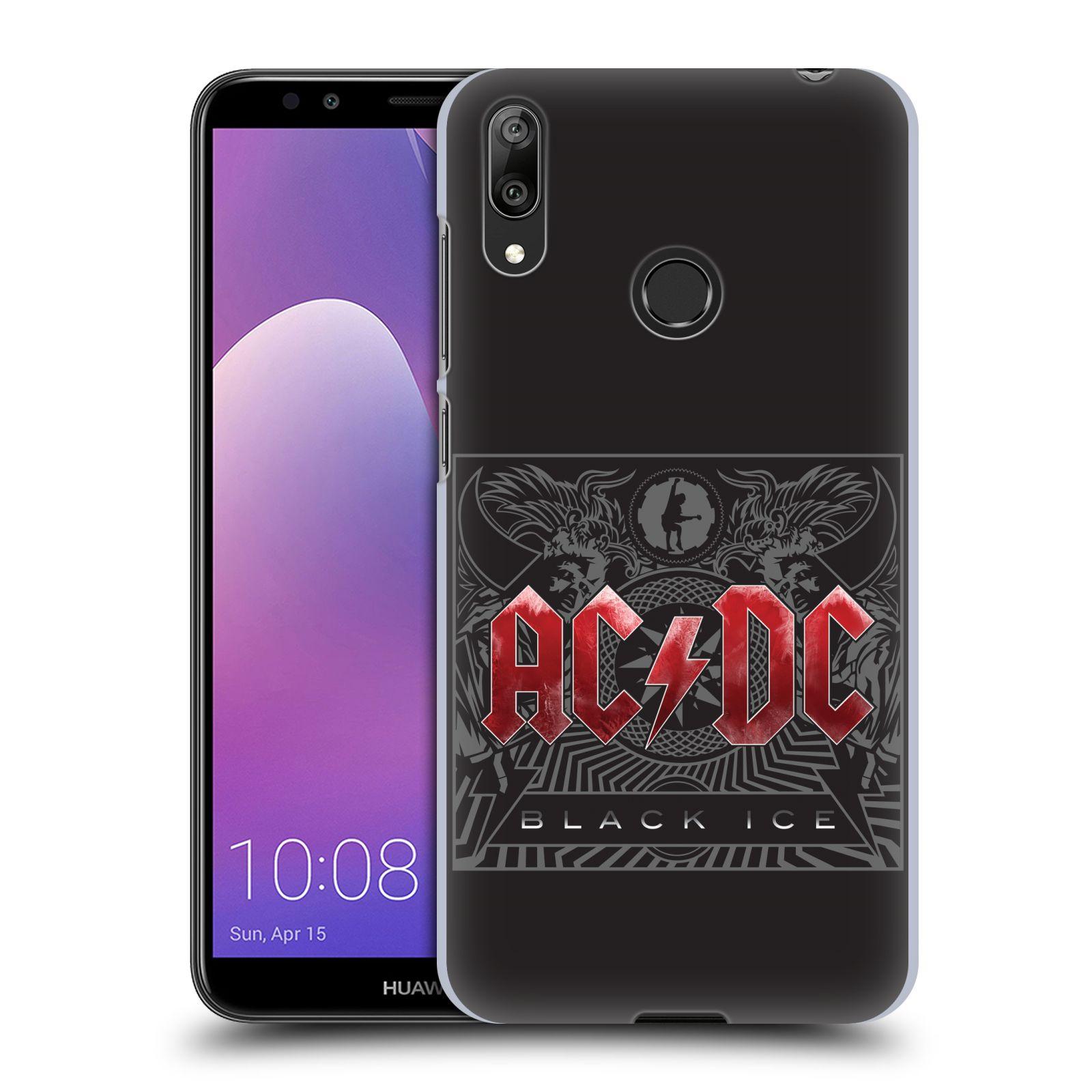 Plastové pouzdro na mobil Huawei Y7 (2019) - Head Case - AC/DC Black Ice