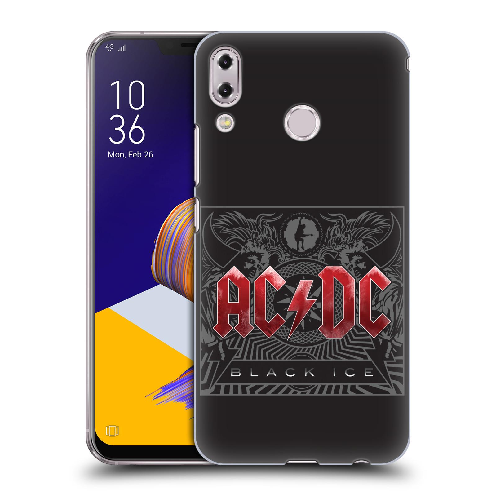 Plastové pouzdro na mobil Asus Zenfone 5z ZS620KL - Head Case - AC/DC Black Ice