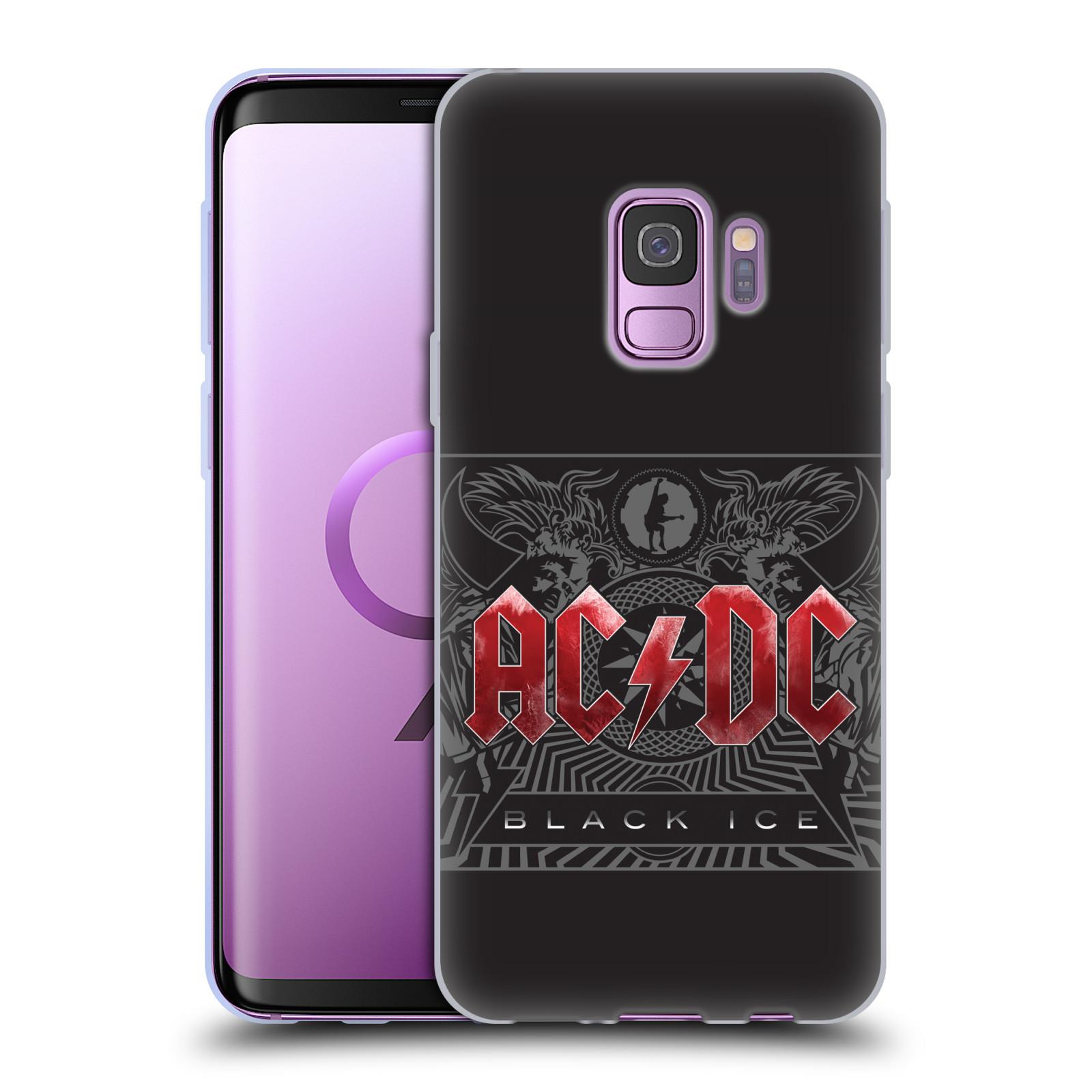Silikonové pouzdro na mobil Samsung Galaxy S9 - Head Case - AC/DC Black Ice