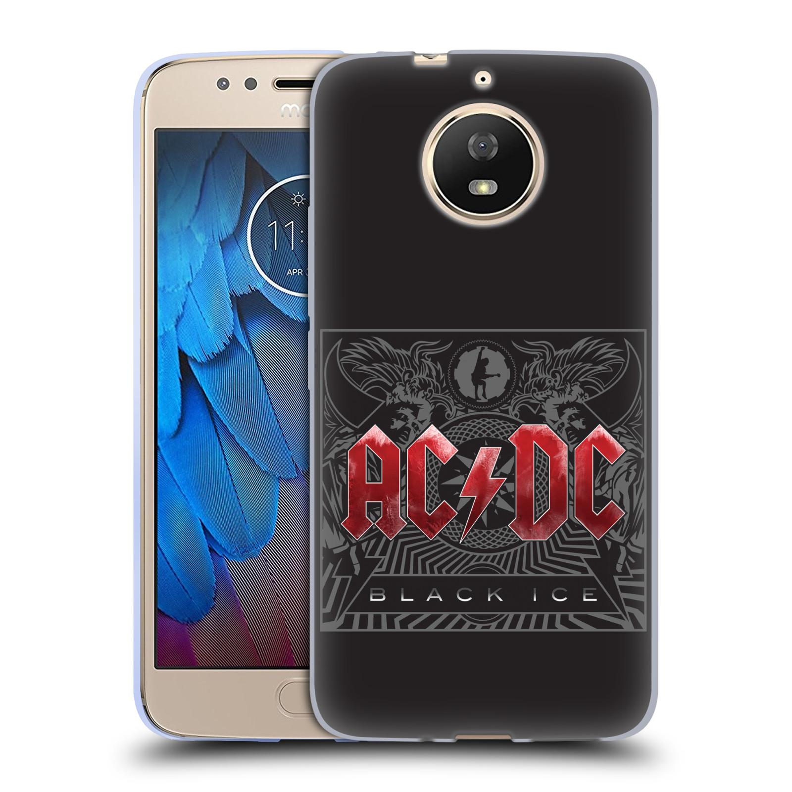 Silikonové pouzdro na mobil Lenovo Moto G5s - Head Case - AC/DC Black Ice