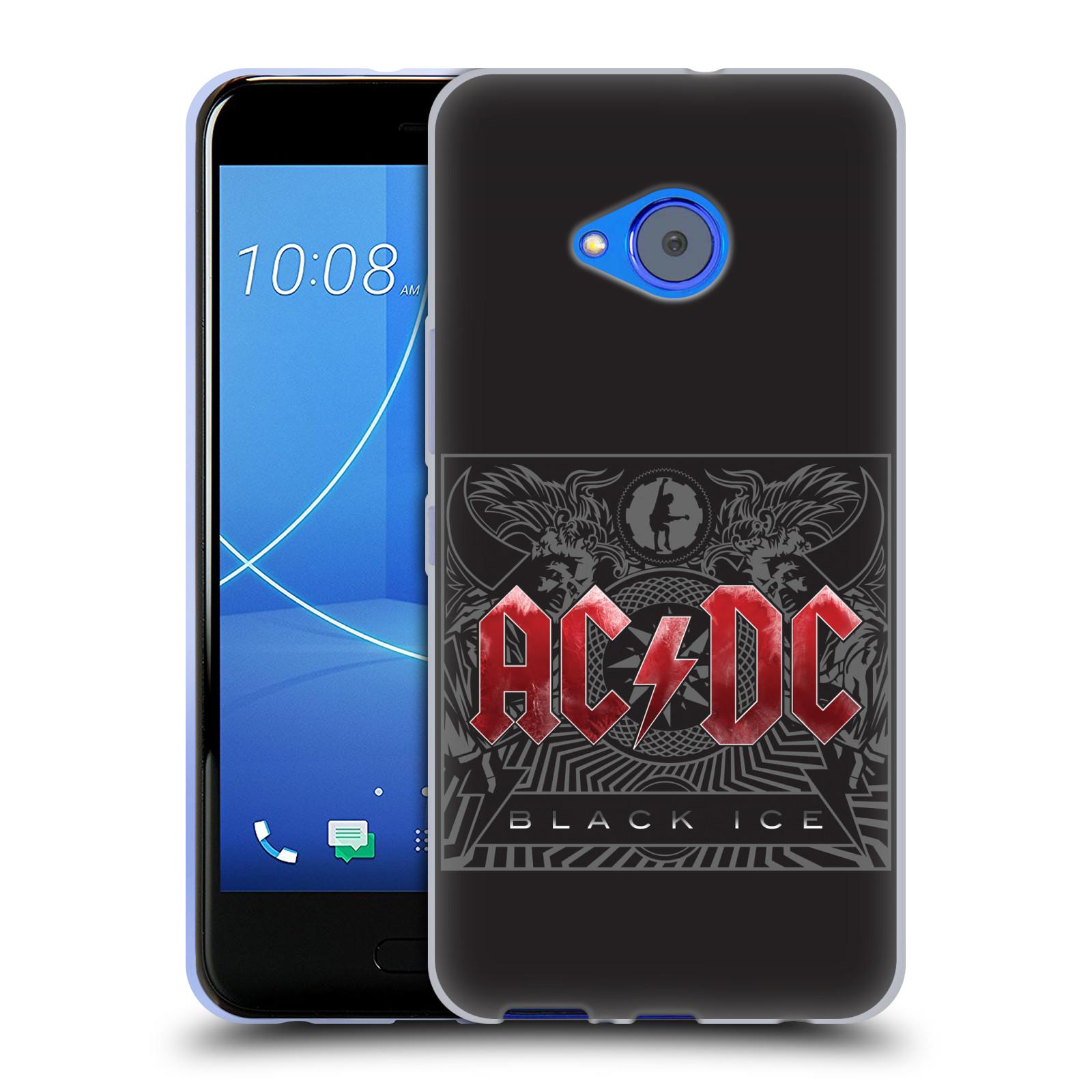 Silikonové pouzdro na mobil HTC U11 Life - Head Case - AC/DC Black Ice