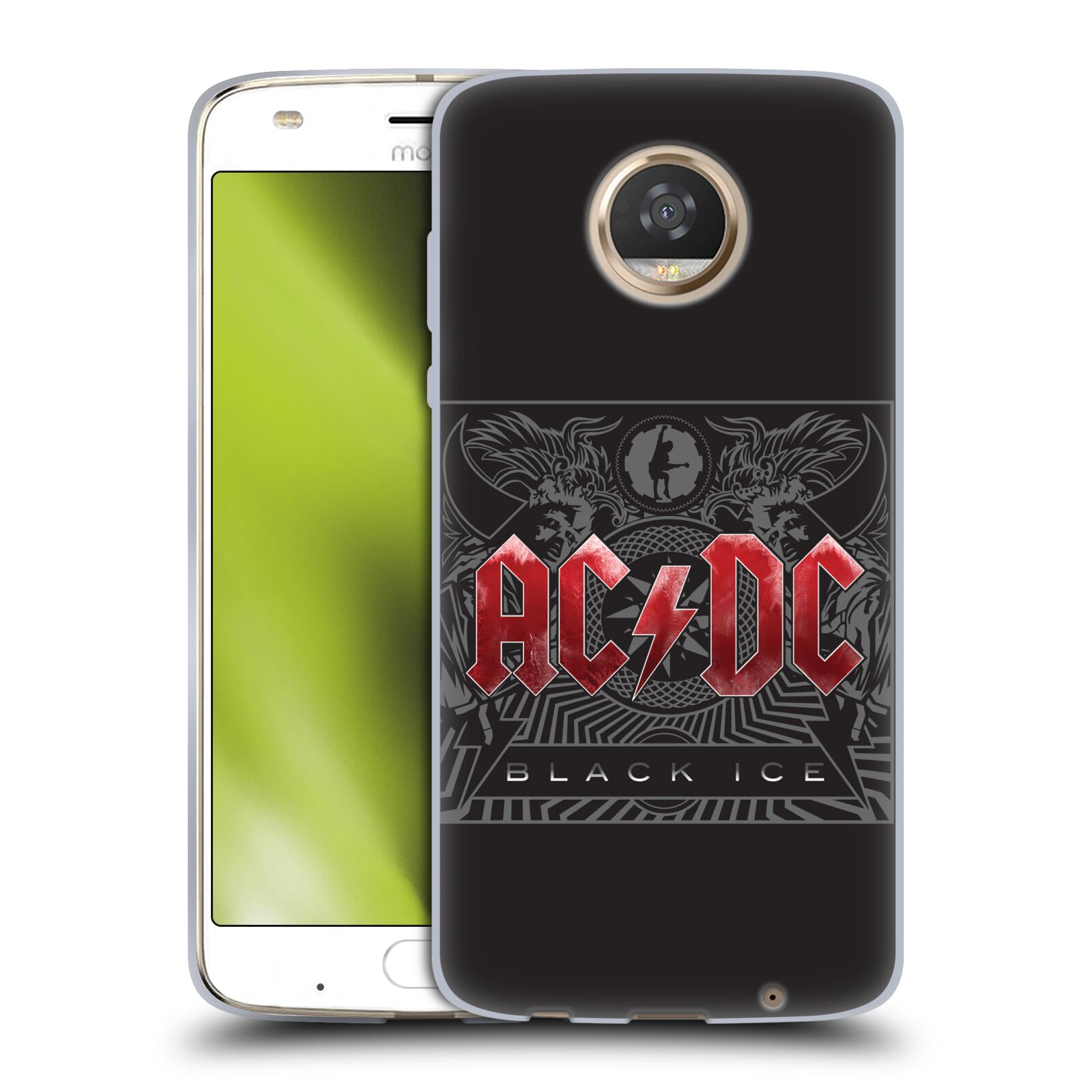 Silikonové pouzdro na mobil Lenovo Moto Z2 Play - Head Case - AC/DC Black Ice
