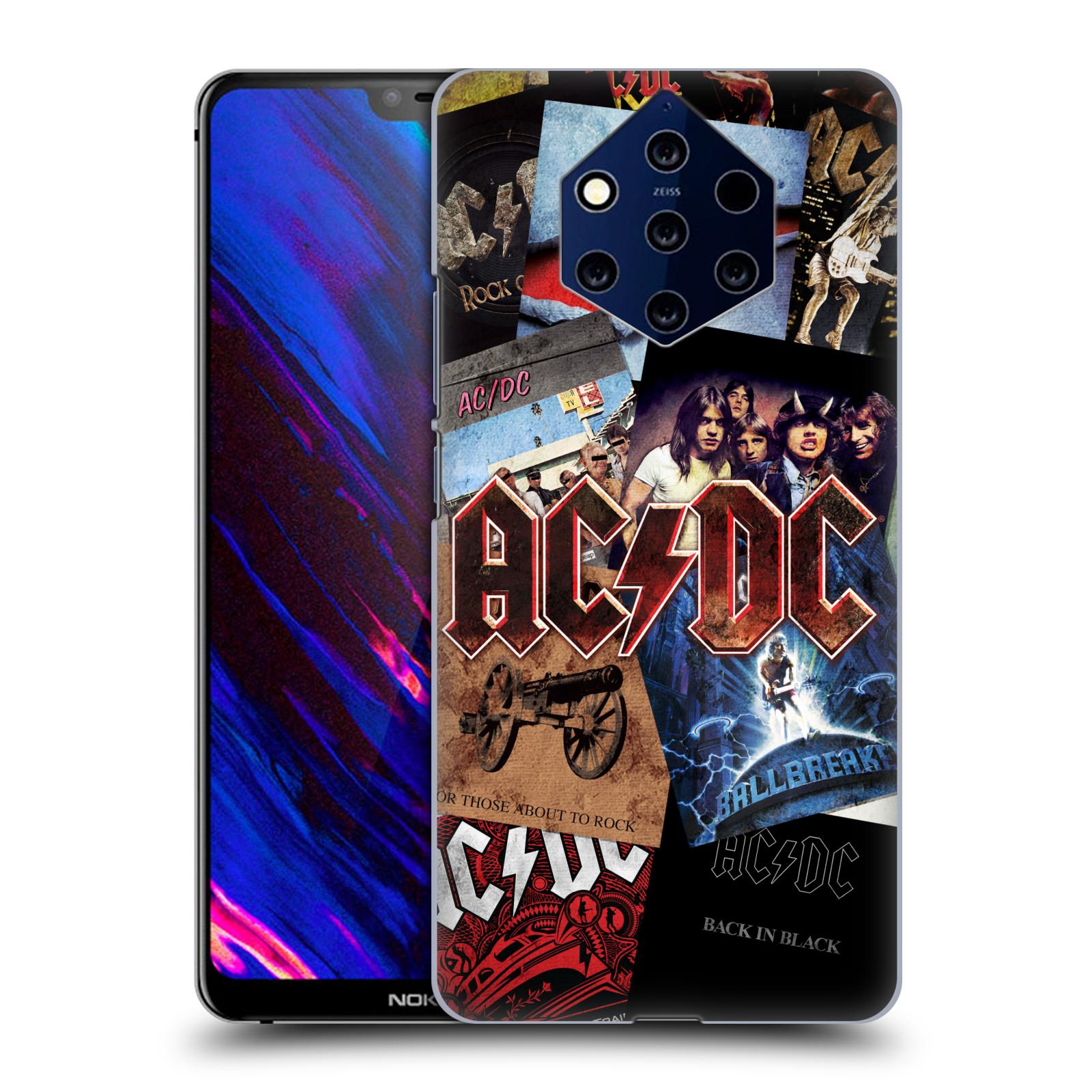 Plastové pouzdro na mobil Nokia 9 PureView - Head Case - AC/DC Koláž desek