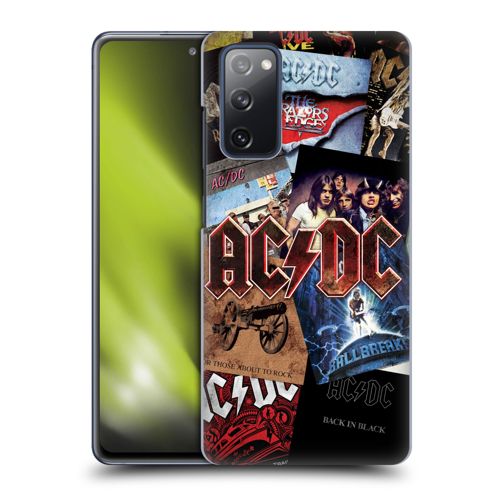 Plastové pouzdro na mobil Samsung Galaxy S20 FE - Head Case - AC/DC Koláž desek