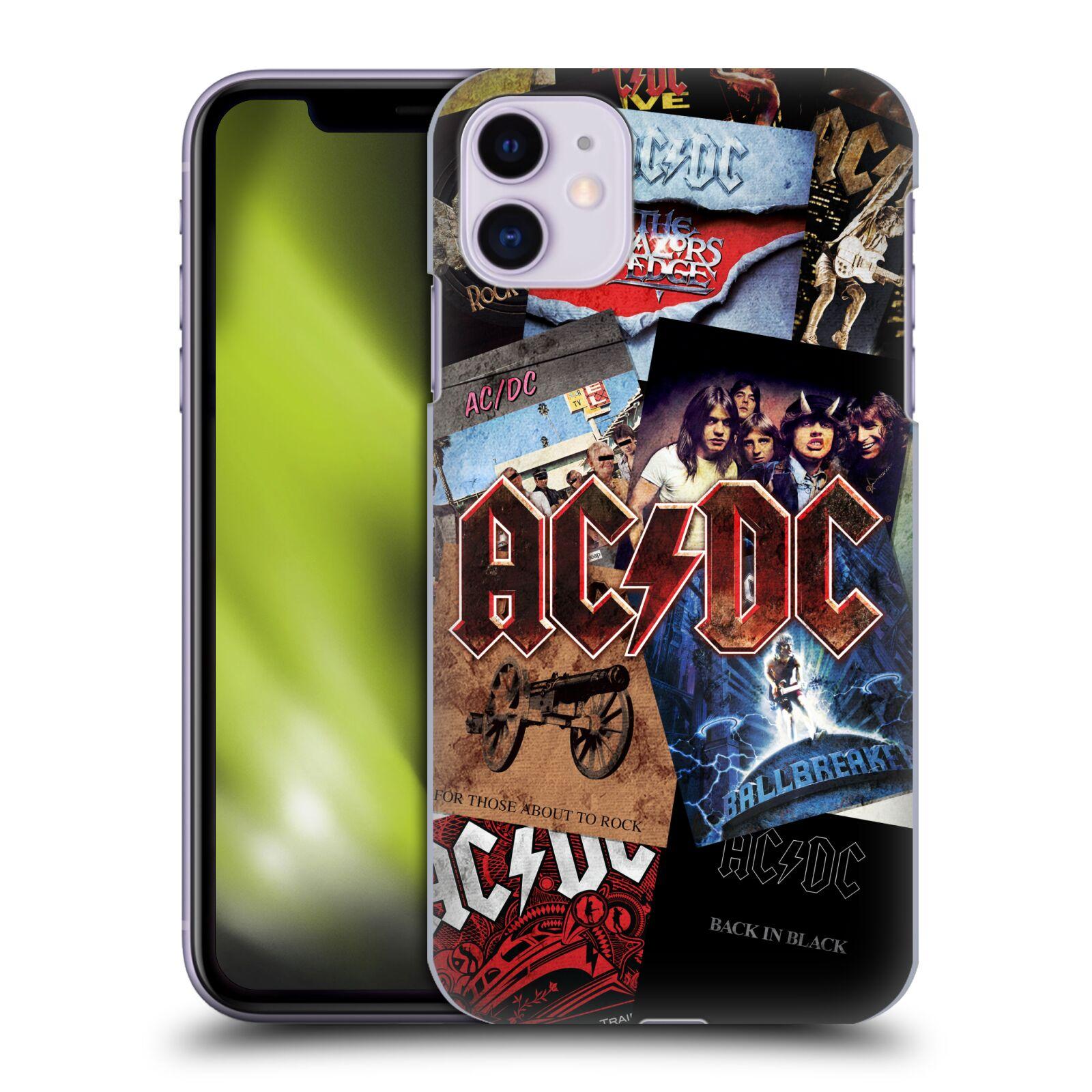 Plastové pouzdro na mobil Apple iPhone 11 - Head Case - AC/DC Koláž desek