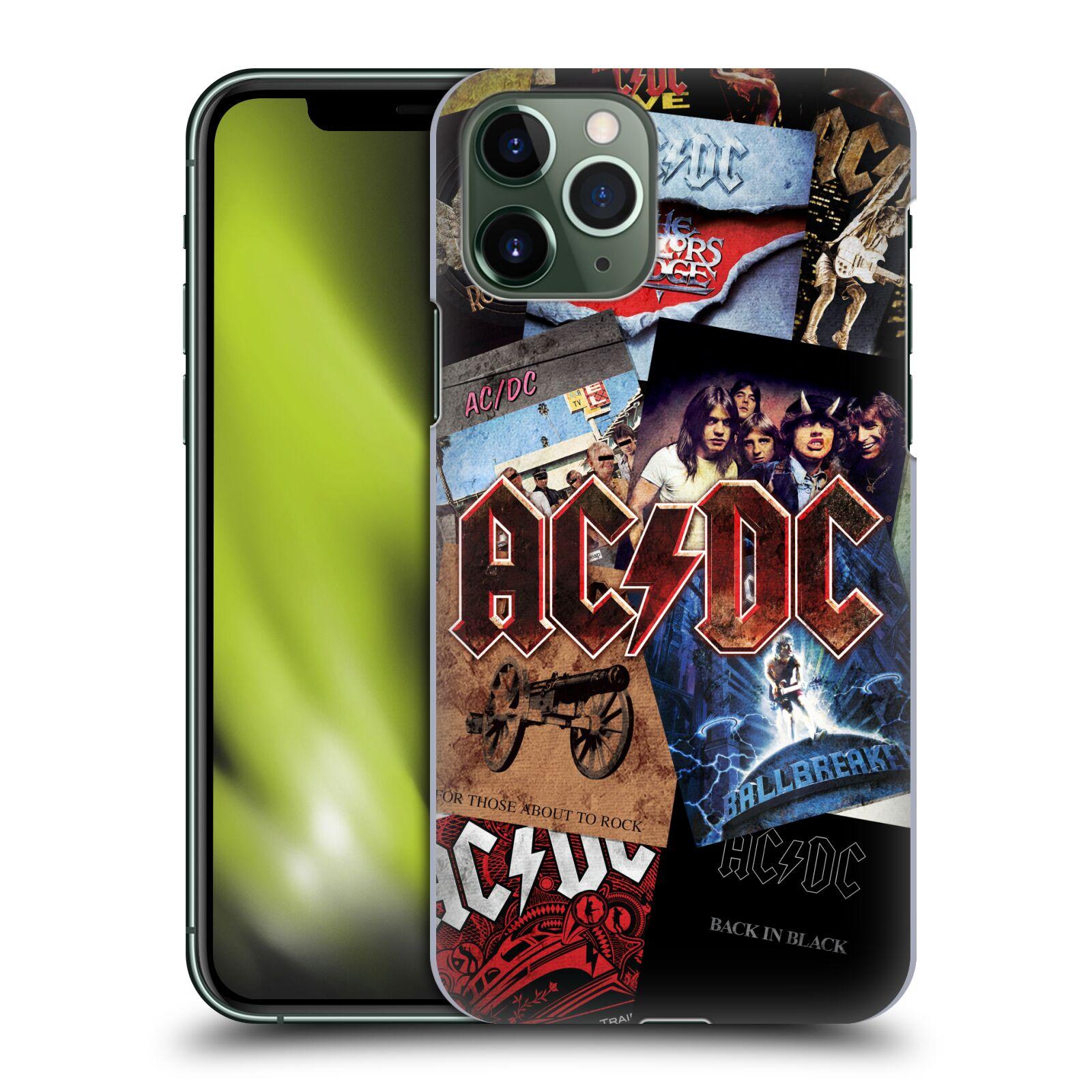 Plastové pouzdro na mobil Apple iPhone 11 Pro - Head Case - AC/DC Koláž desek