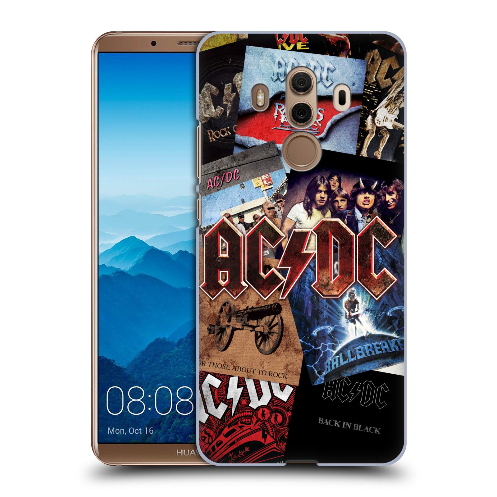Plastové pouzdro na mobil Huawei Mate 10 Pro - Head Case - AC/DC Koláž desek