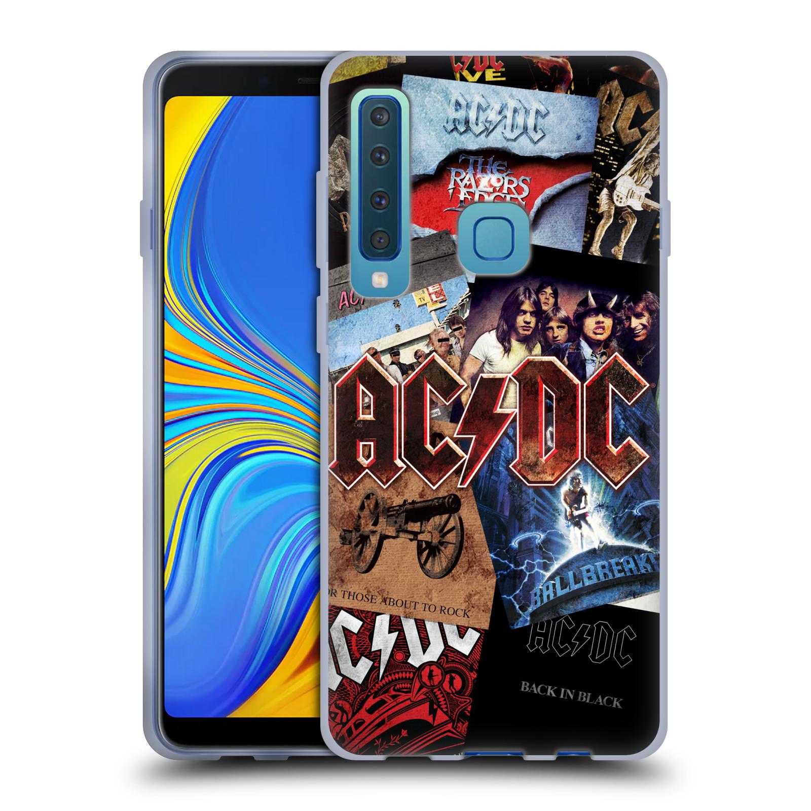 Silikonové pouzdro na mobil Samsung Galaxy A9 (2018) - Head Case - AC/DC Koláž desek