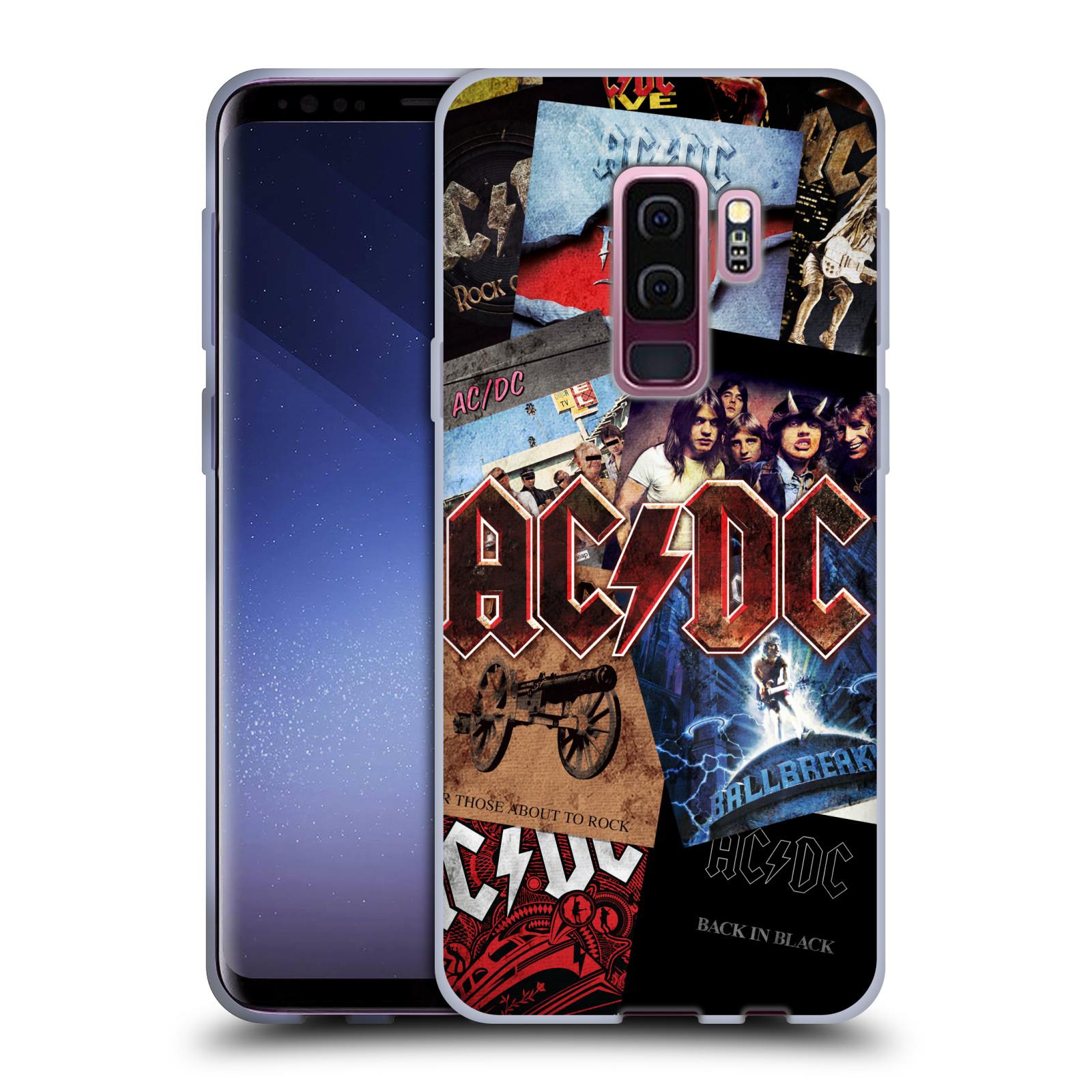 Silikonové pouzdro na mobil Samsung Galaxy S9 Plus - Head Case - AC/DC Koláž desek
