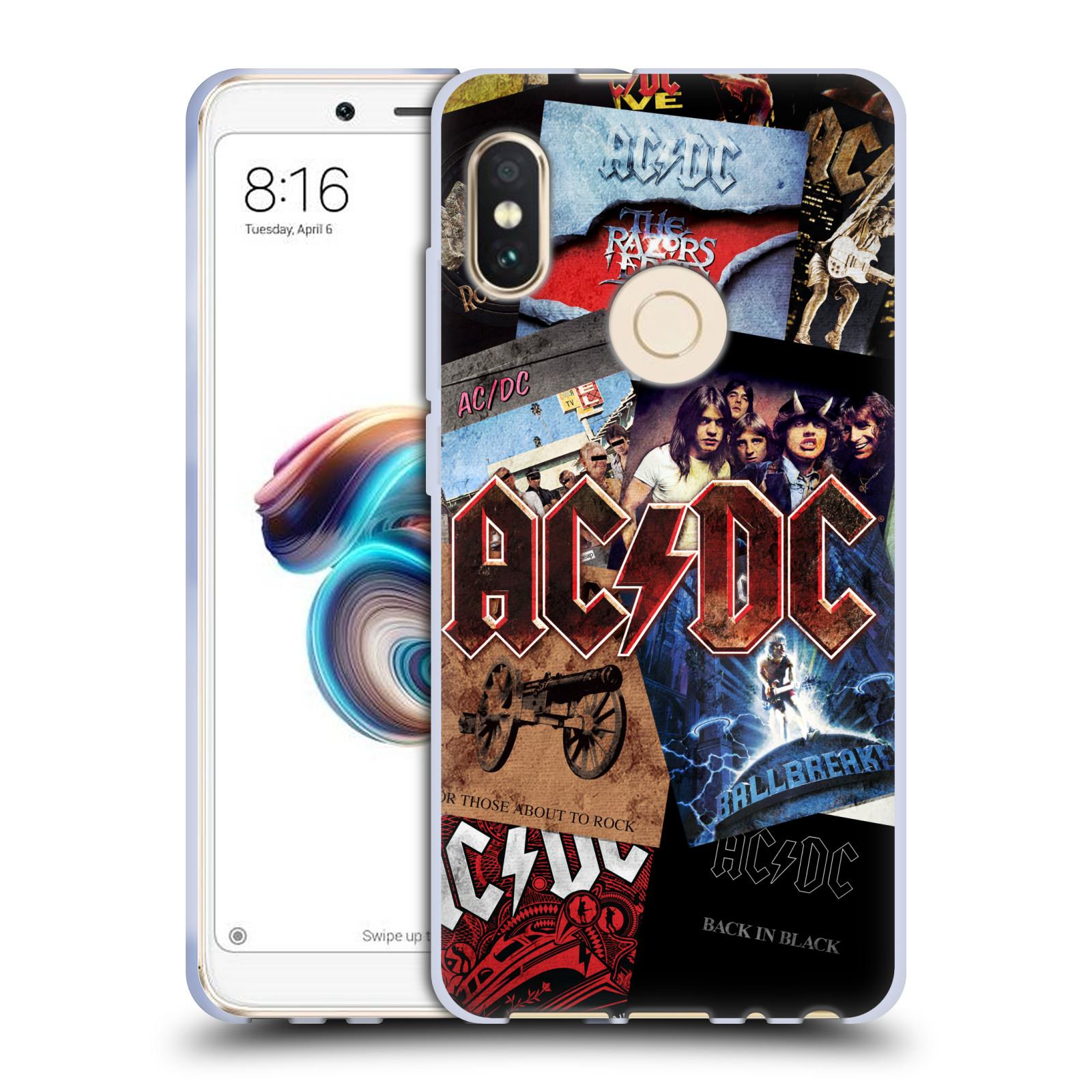 Silikonové pouzdro na mobil Xiaomi Redmi Note 5 - Head Case - AC/DC Koláž desek