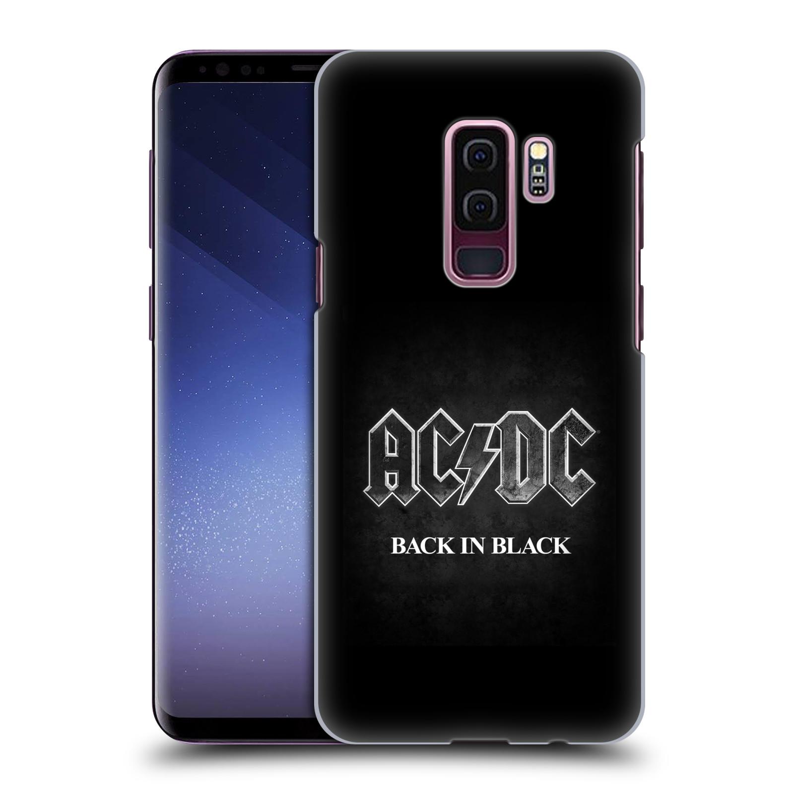 Plastové pouzdro na mobil Samsung Galaxy S9 Plus - Head Case - AC/DC BACK IN BLACK