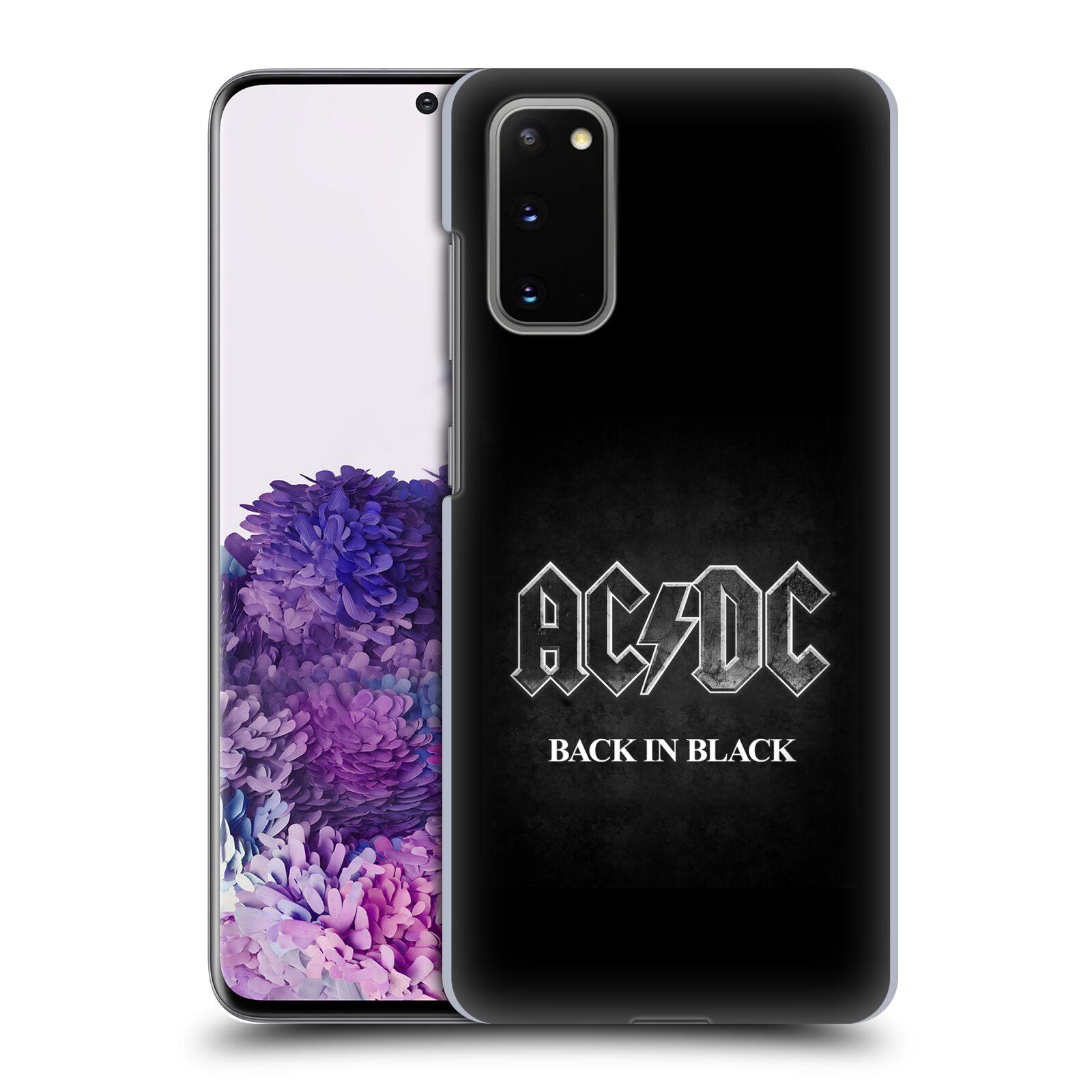 Plastové pouzdro na mobil Samsung Galaxy S20 - Head Case - AC/DC BACK IN BLACK